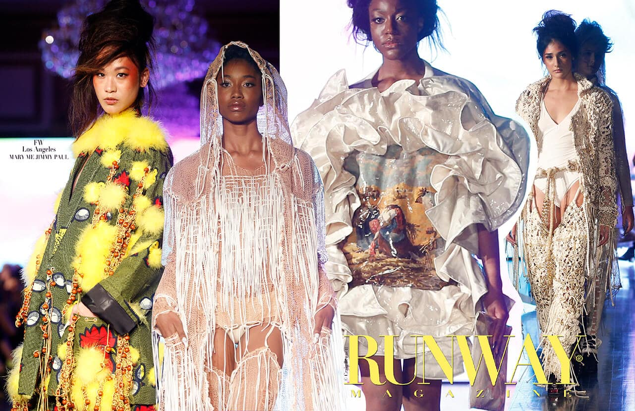MARY ME JIMMY PAUL Spring Summer 2018 by Runway Magazine Los Angeles Fashion Week