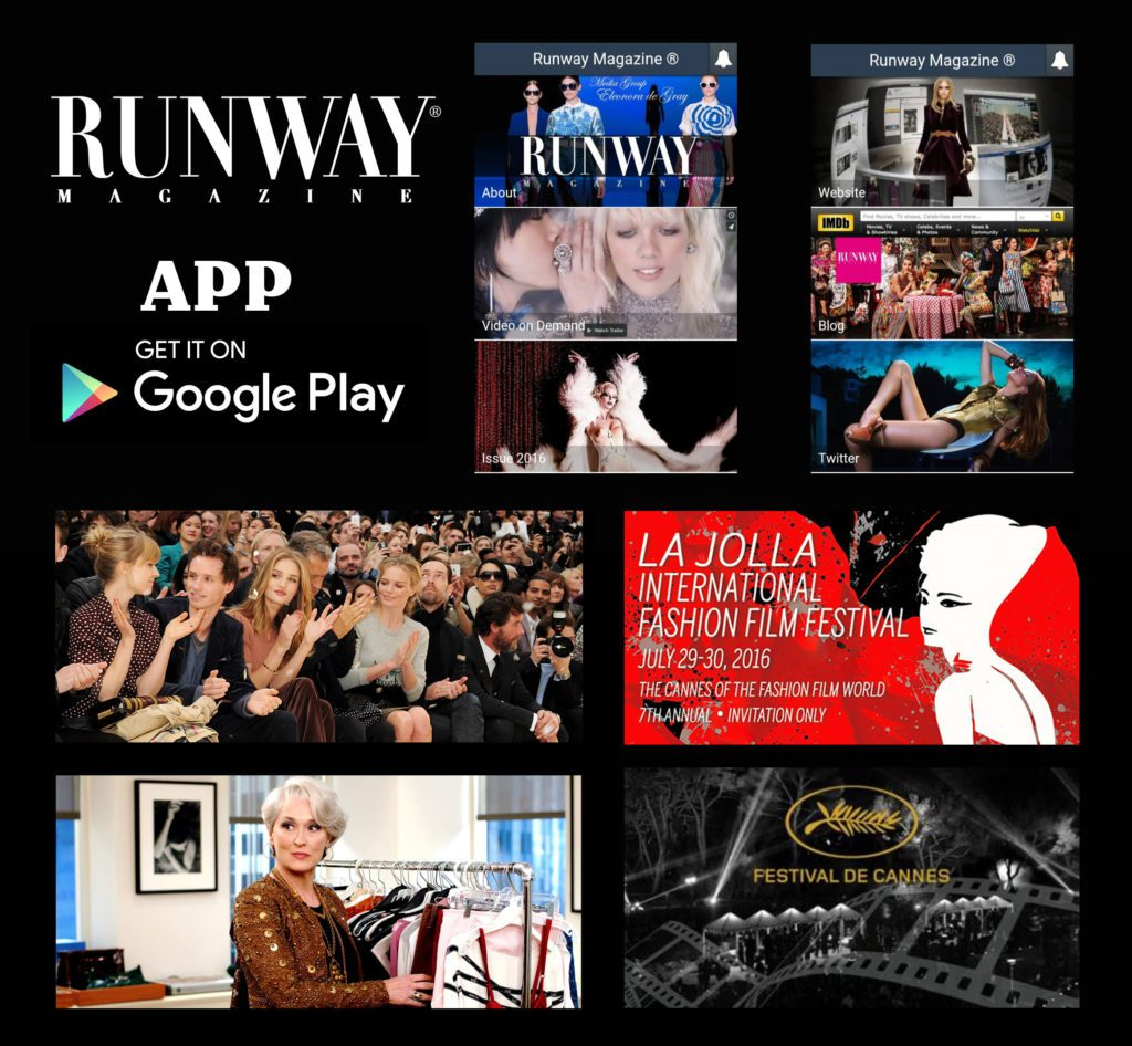 RUNWAY MAGAZINE application on google play