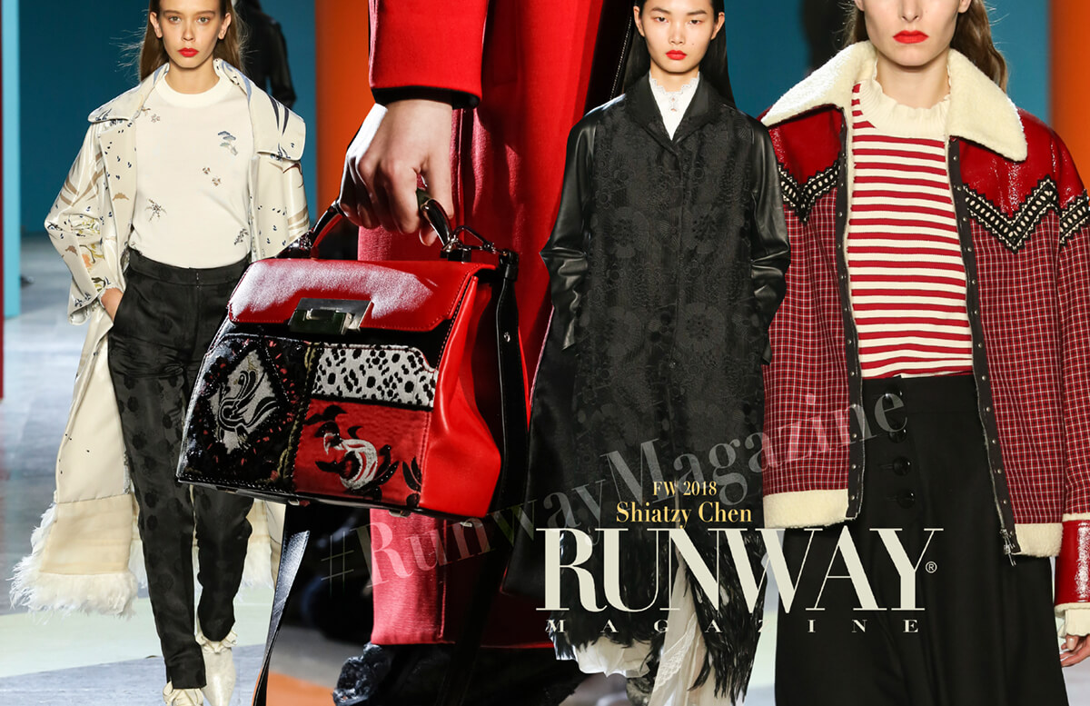 Shiatzy  Chen Fall Winter 2018-2019 by Runway Magazine Paris Fashion Week