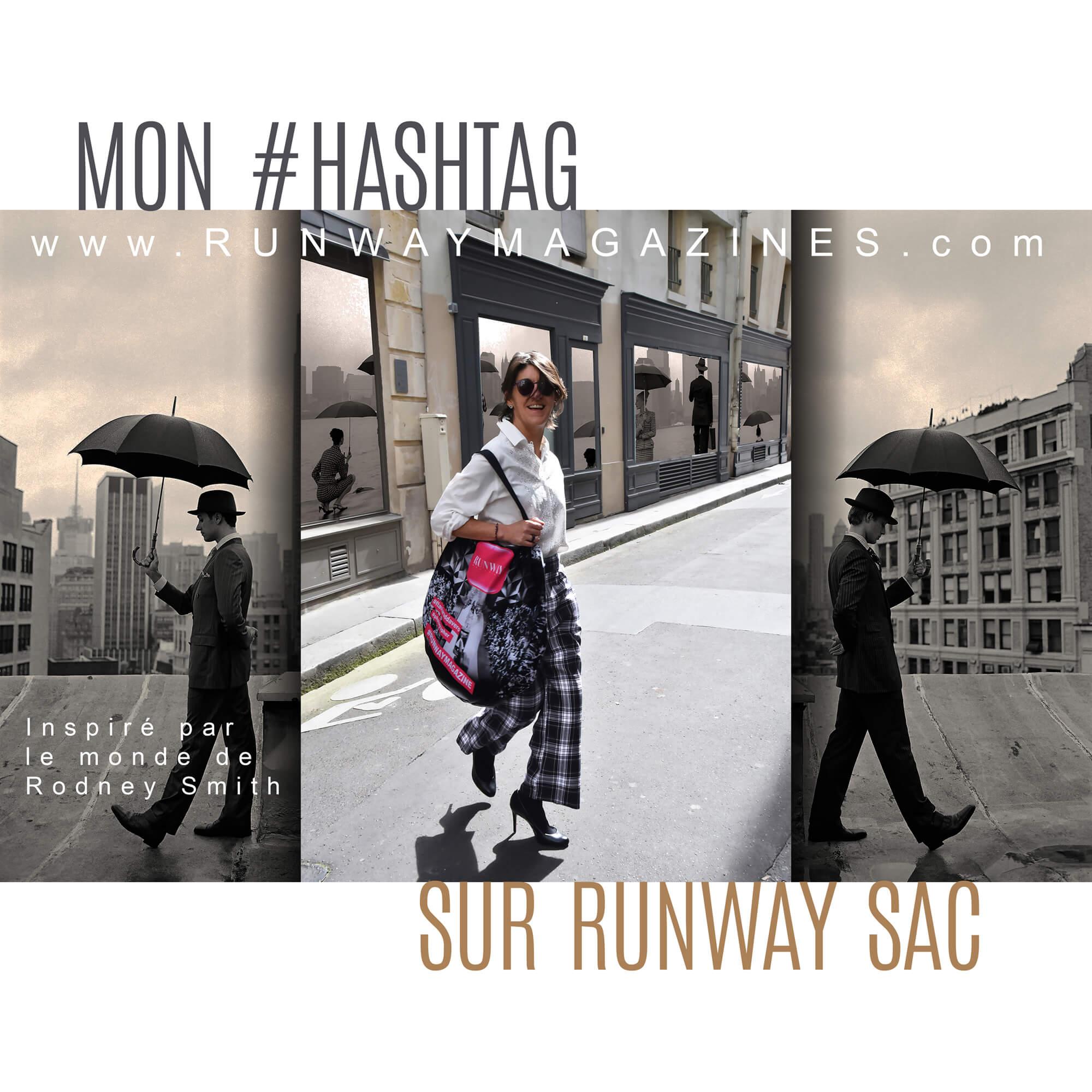 My hashtag on Runway Bag by Fashion Photographer - Rodney Smith