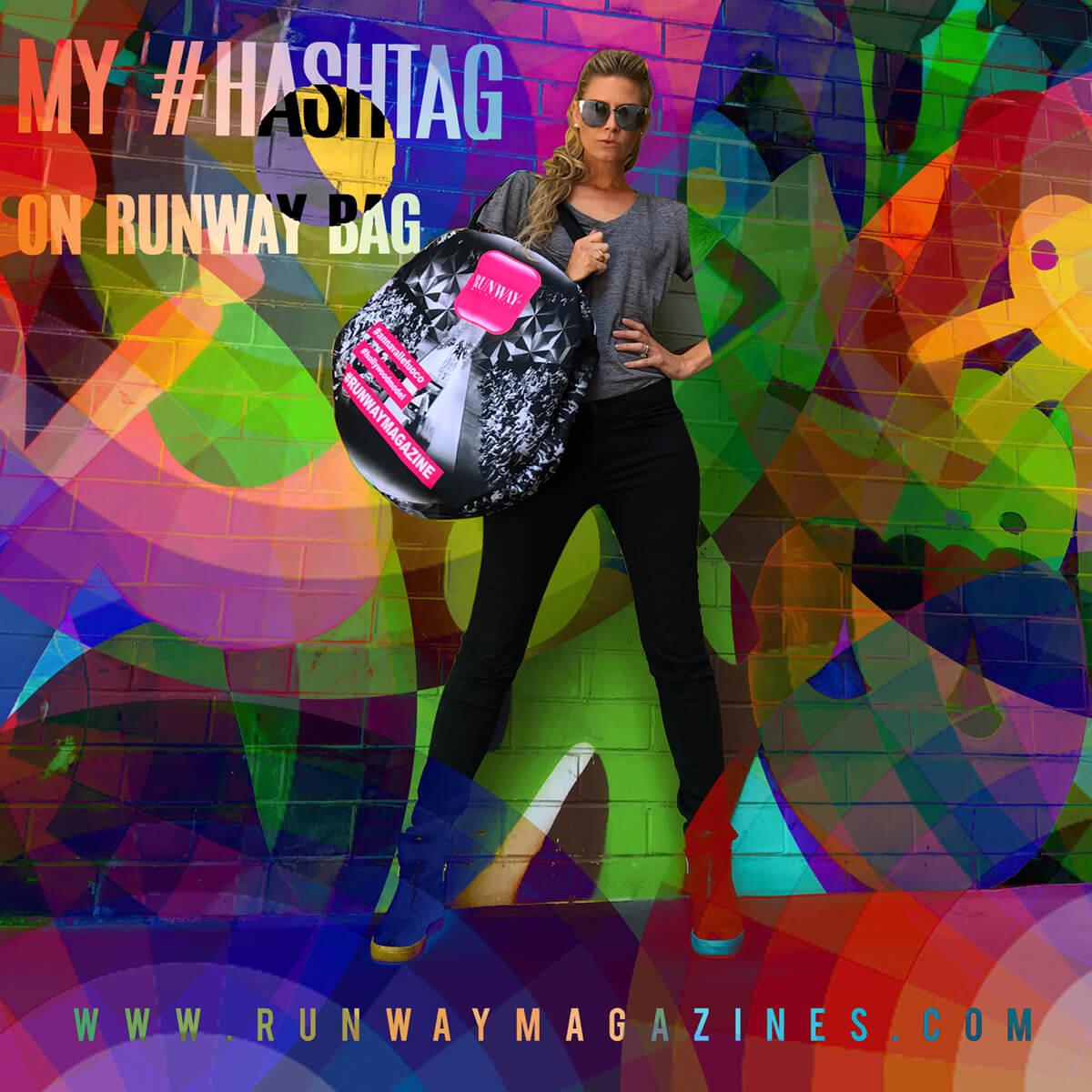 "Story of Fashion Model - My Runway Bag <a href=""https://runwaymagazines.com"">RUNWAY MAGAZINE </a>"