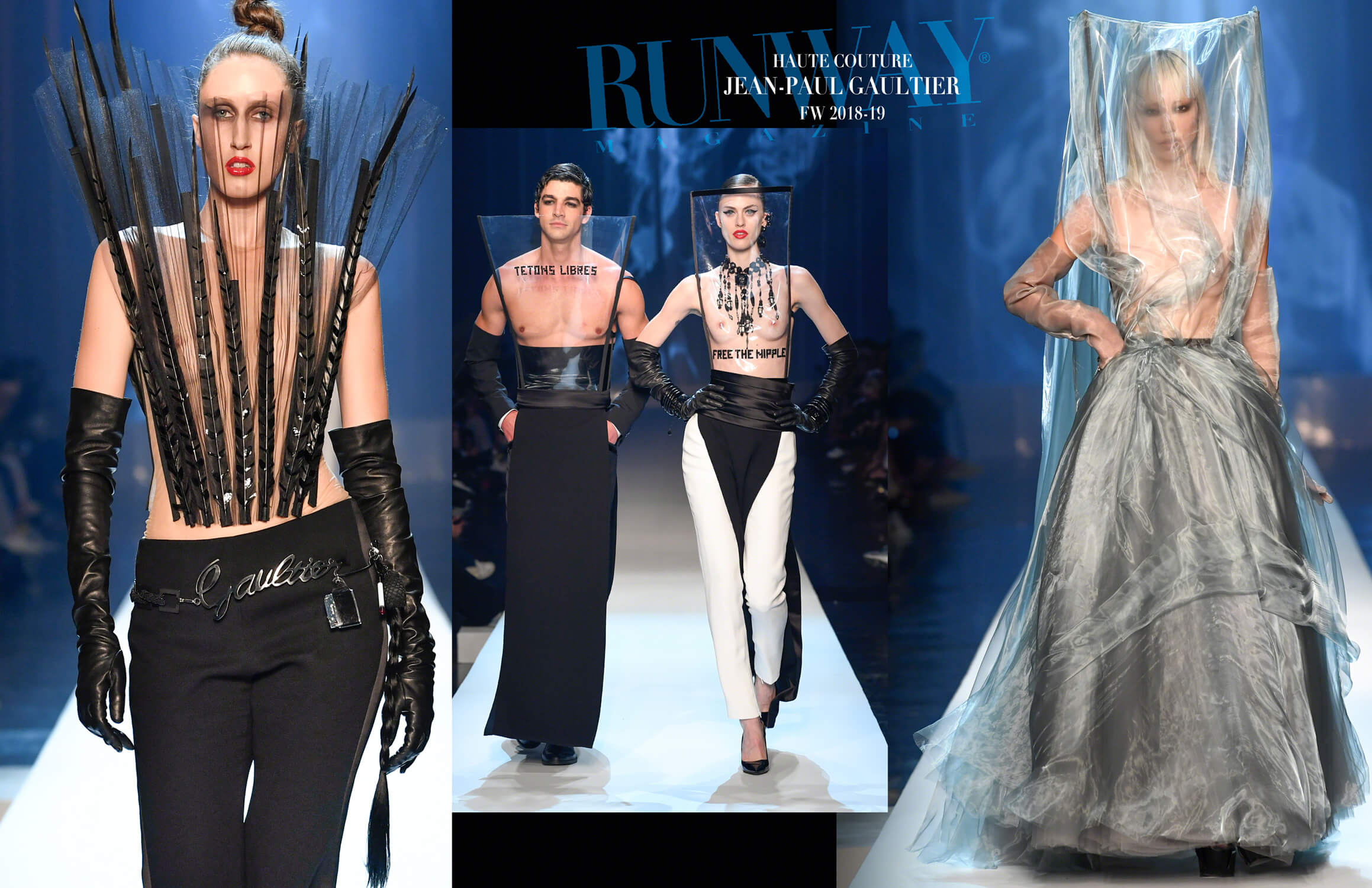 JEAN-PAUL GAULTIER Haute Couture Fall Winter 2018-2019 Runway Magazine