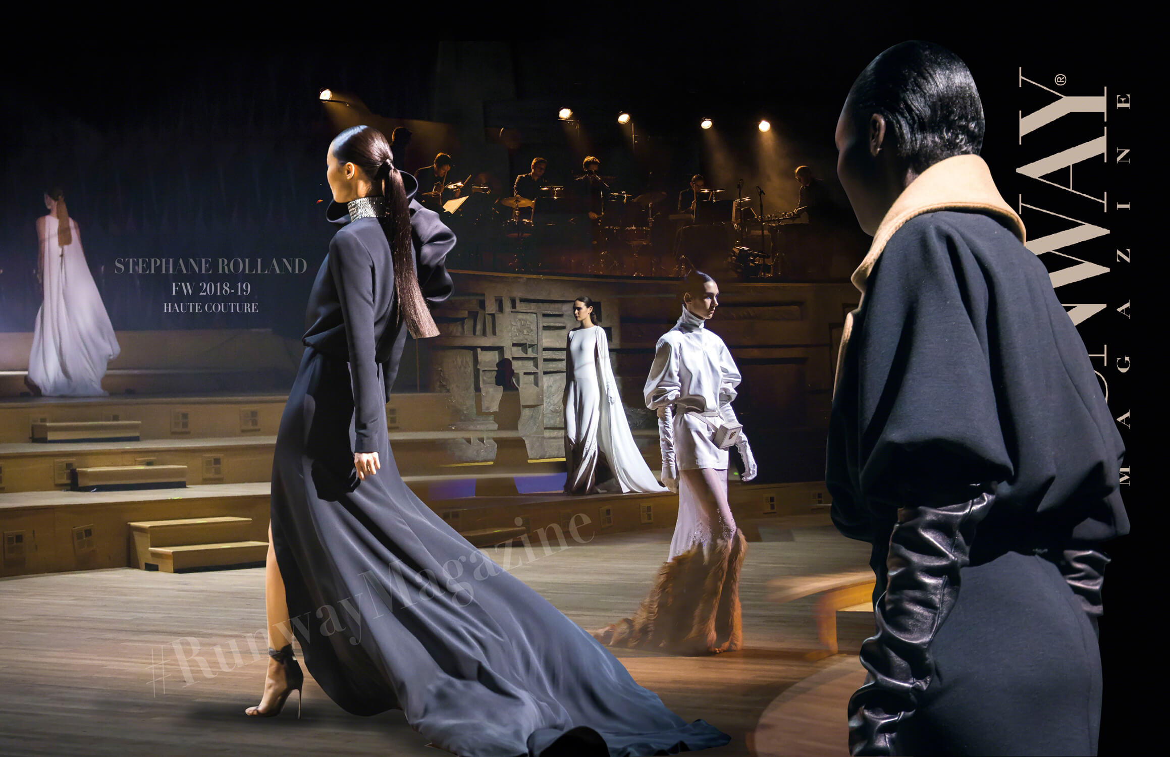 STEPHANE ROLLAND Haute Couture Fall Winter 2018-2019 Runway Magazine