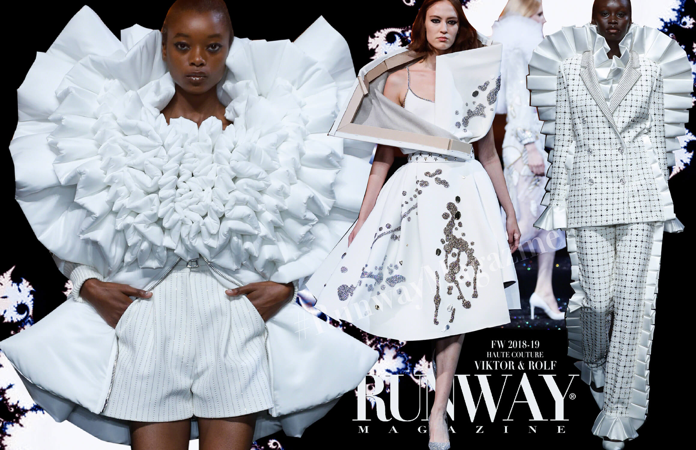 VIKTOR & ROLF Haute Couture Fall Winter 2018-2019 Runway Magazine