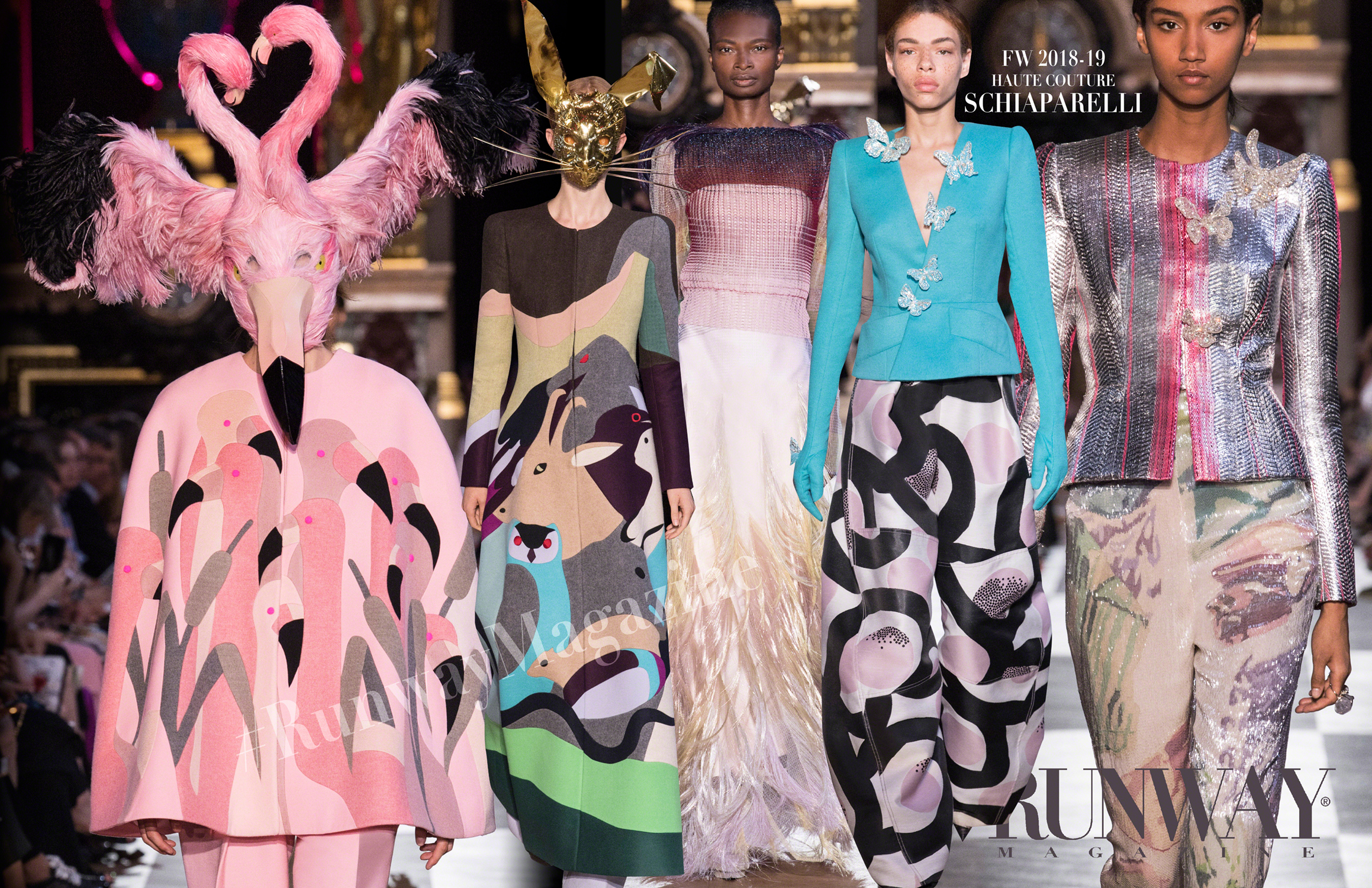 SCHIAPARELLI Haute Couture Fall Winter 2018-2019 Runway Magazine