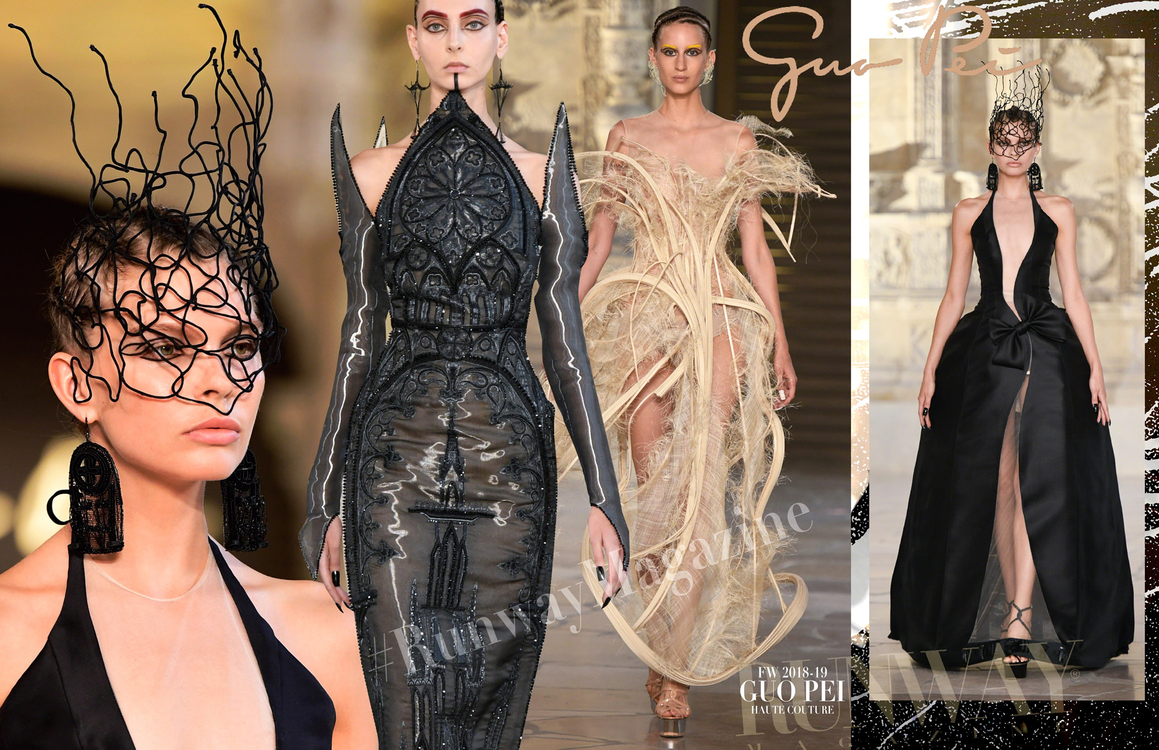 GUO PEI Haute Couture Fall Winter 2018-2019 Runway Magazine