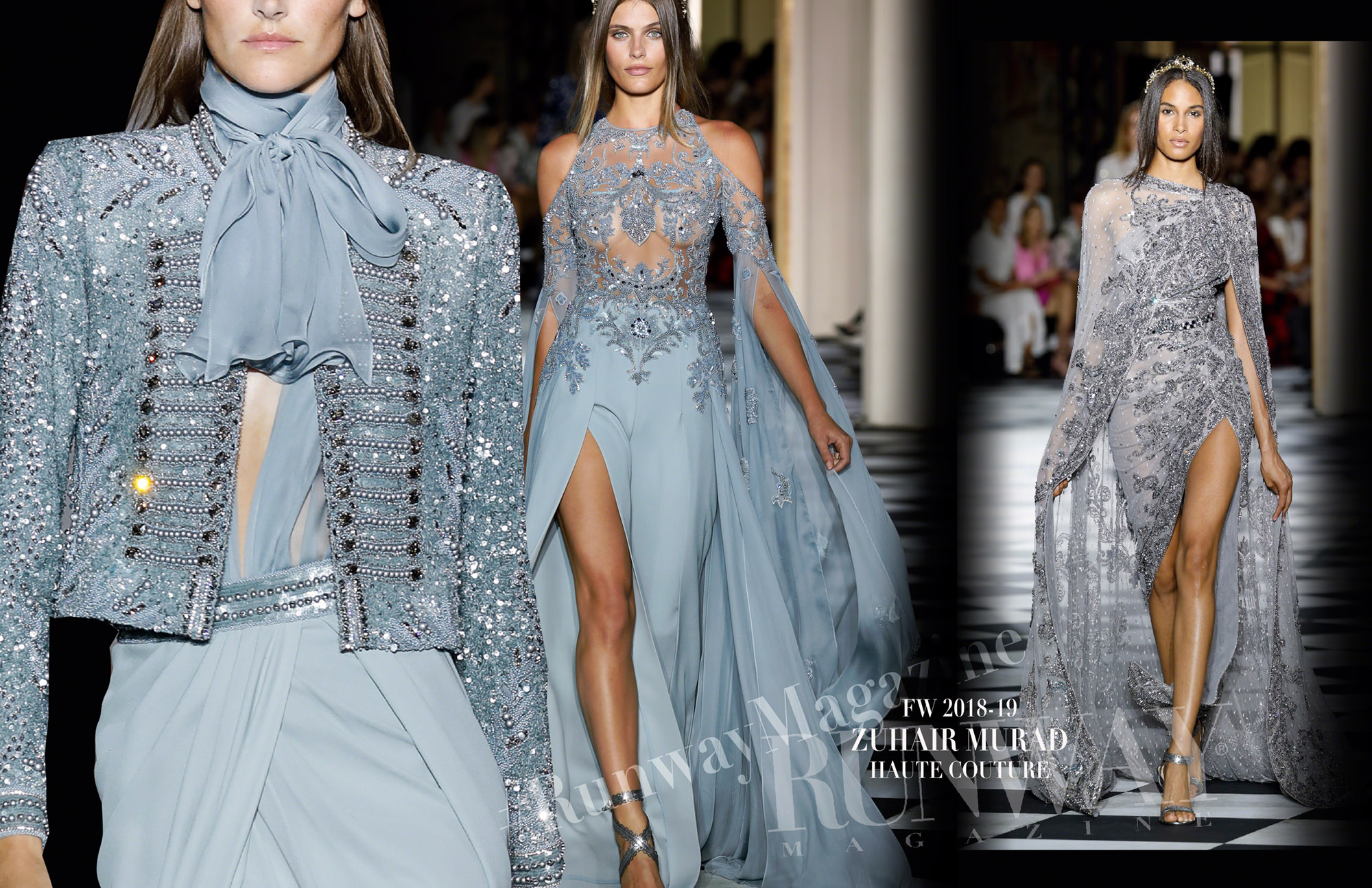 ZUHAIR MURAD Haute Couture Fall Winter 2018-2019 Runway Magazine