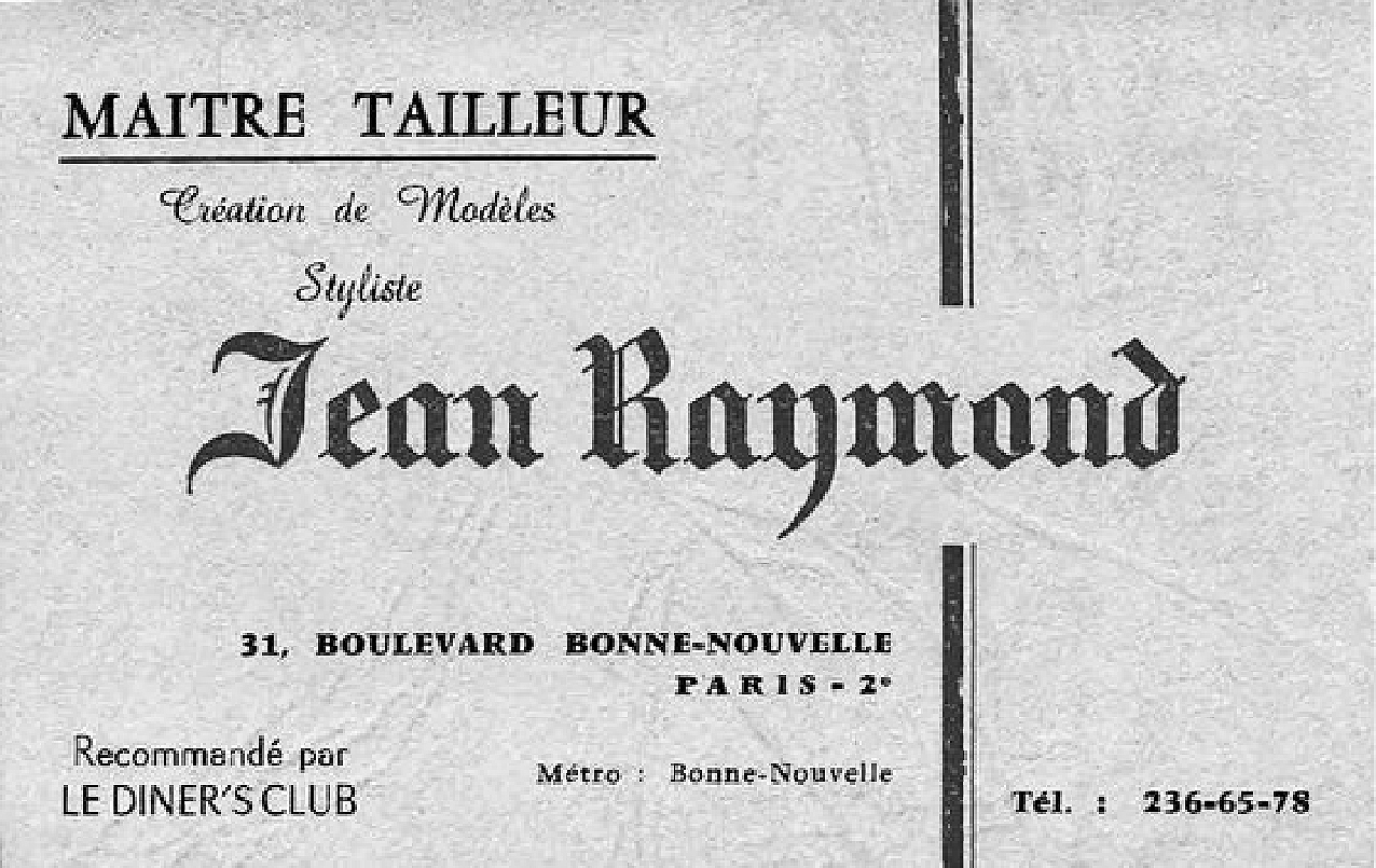 Master Tailor JEAN RAYMOND by Runway Magazine