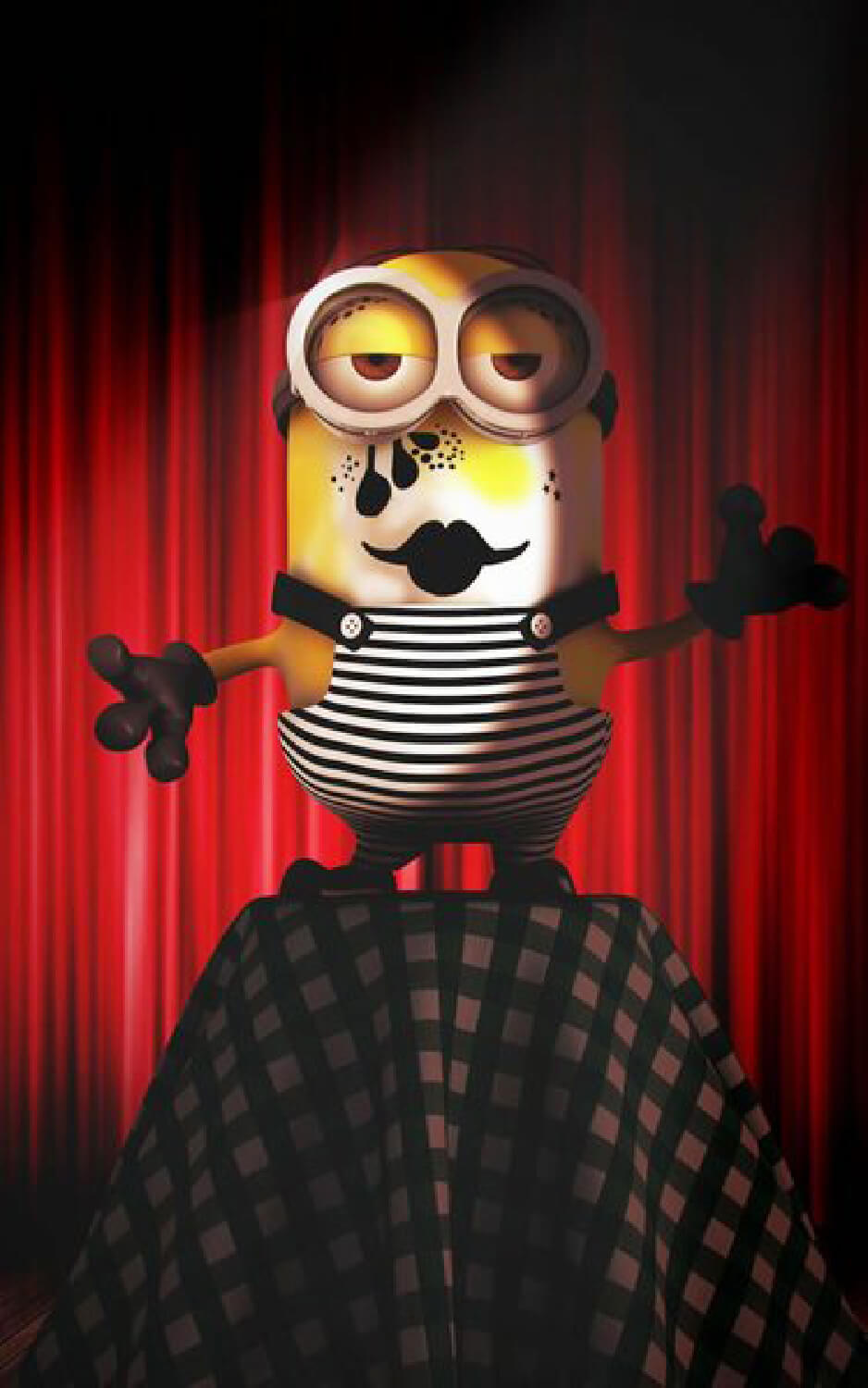 Minions Mime by Runway Magazine