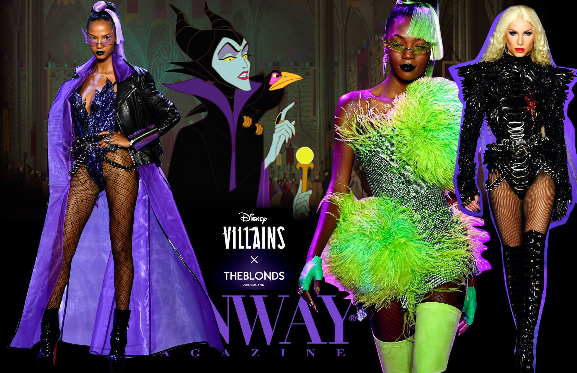 Disney Villains and The Blonds - Spring Summer 2019 NYFW
