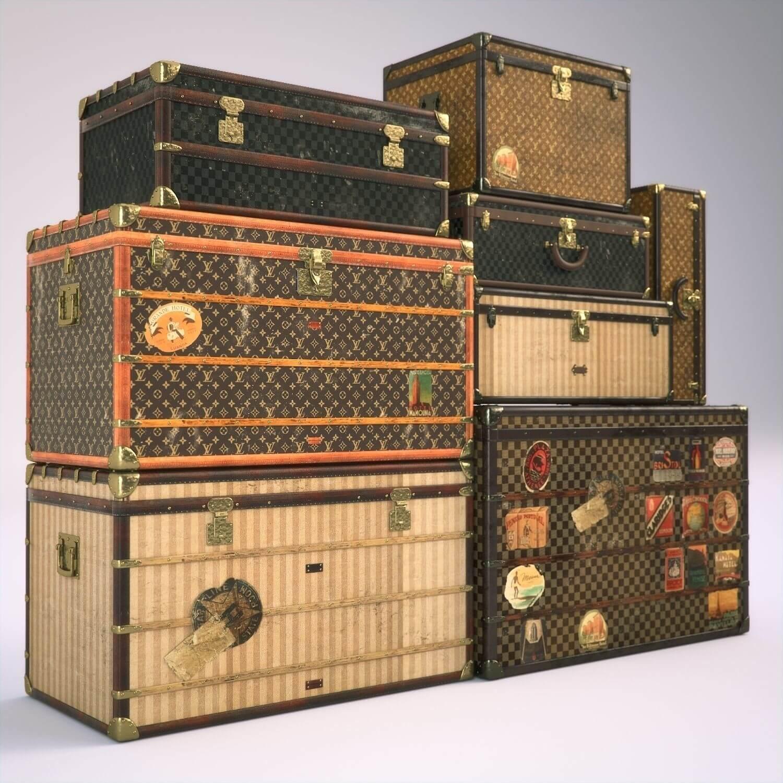 3f6a02d1649 Louis Vuitton the travel trunk 1885 - RUNWAY MAGAZINE ® Official