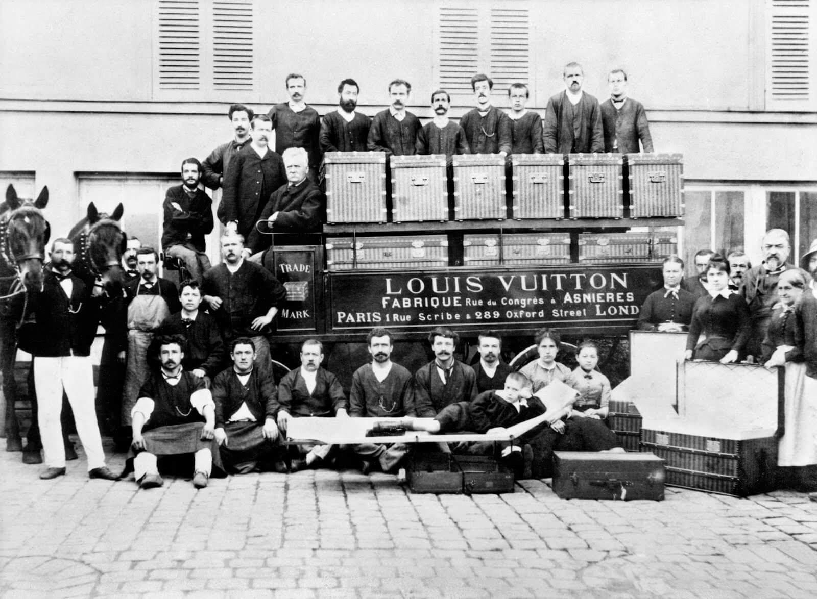 Louis Vuitton the travel trunk 1885