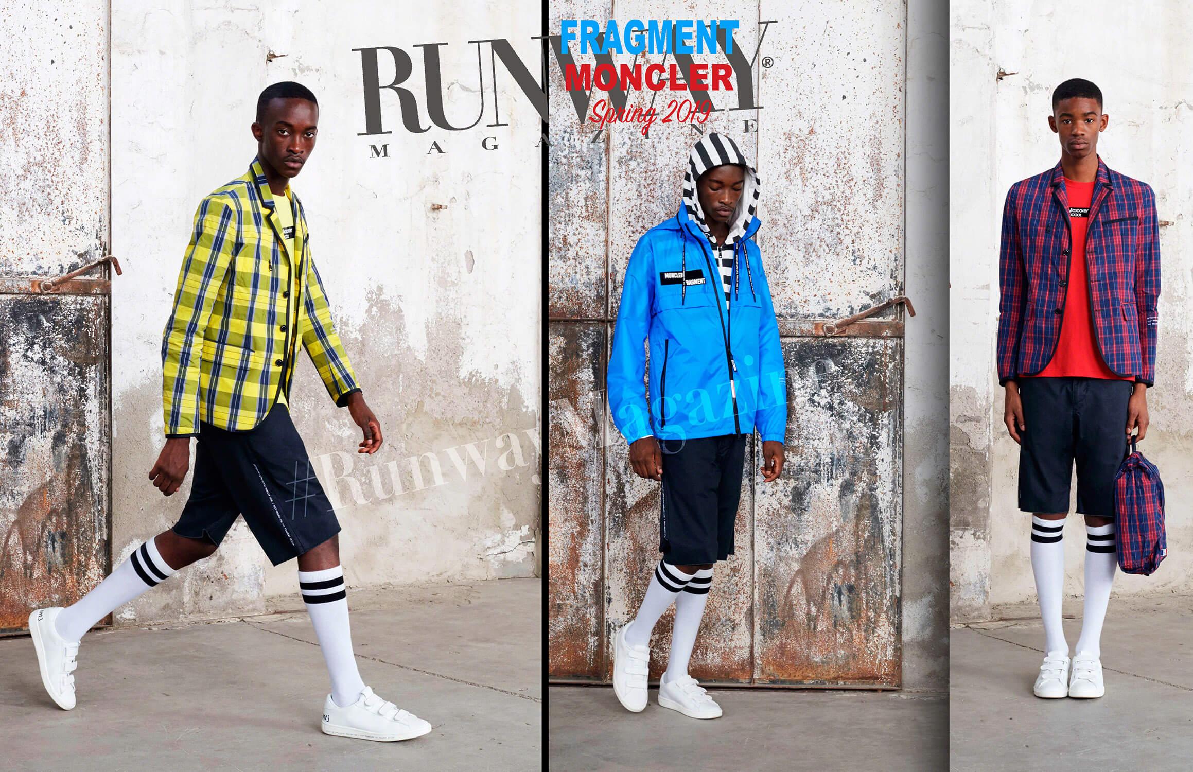 Moncler Fragment Spring Summer 19 Milan by Runway Magazine