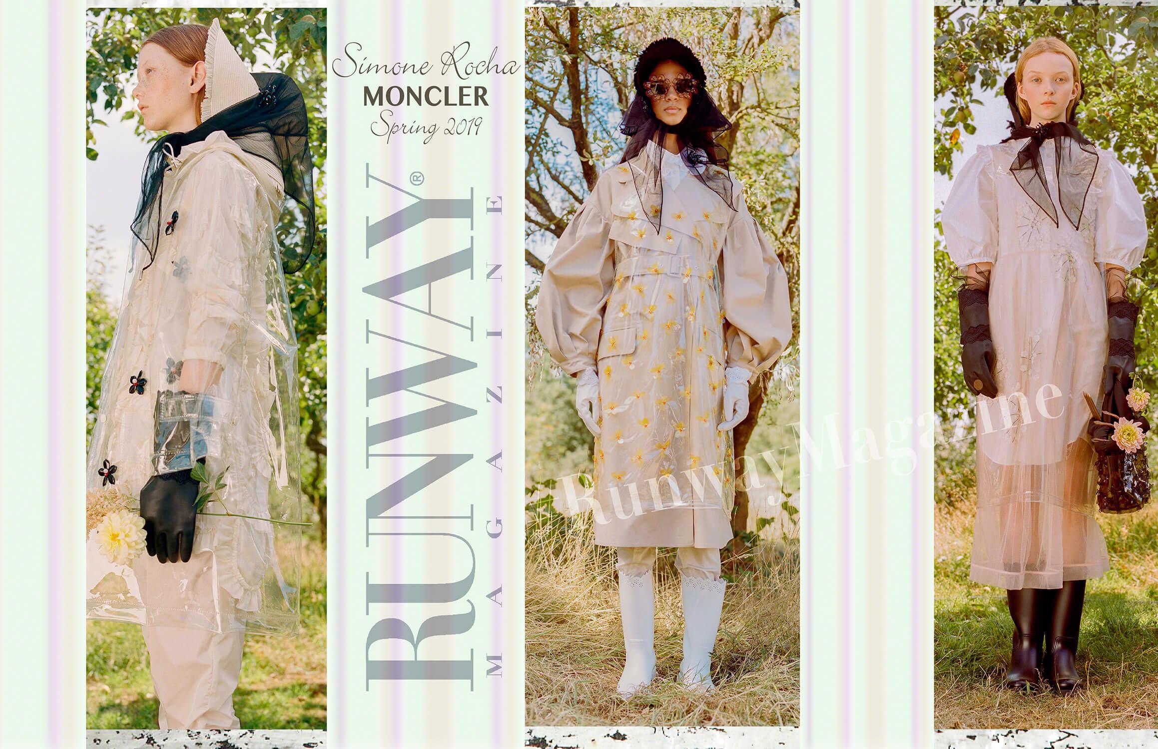 Moncler Simone Rocha Spring Summer 19 Milan by Runway Magazine