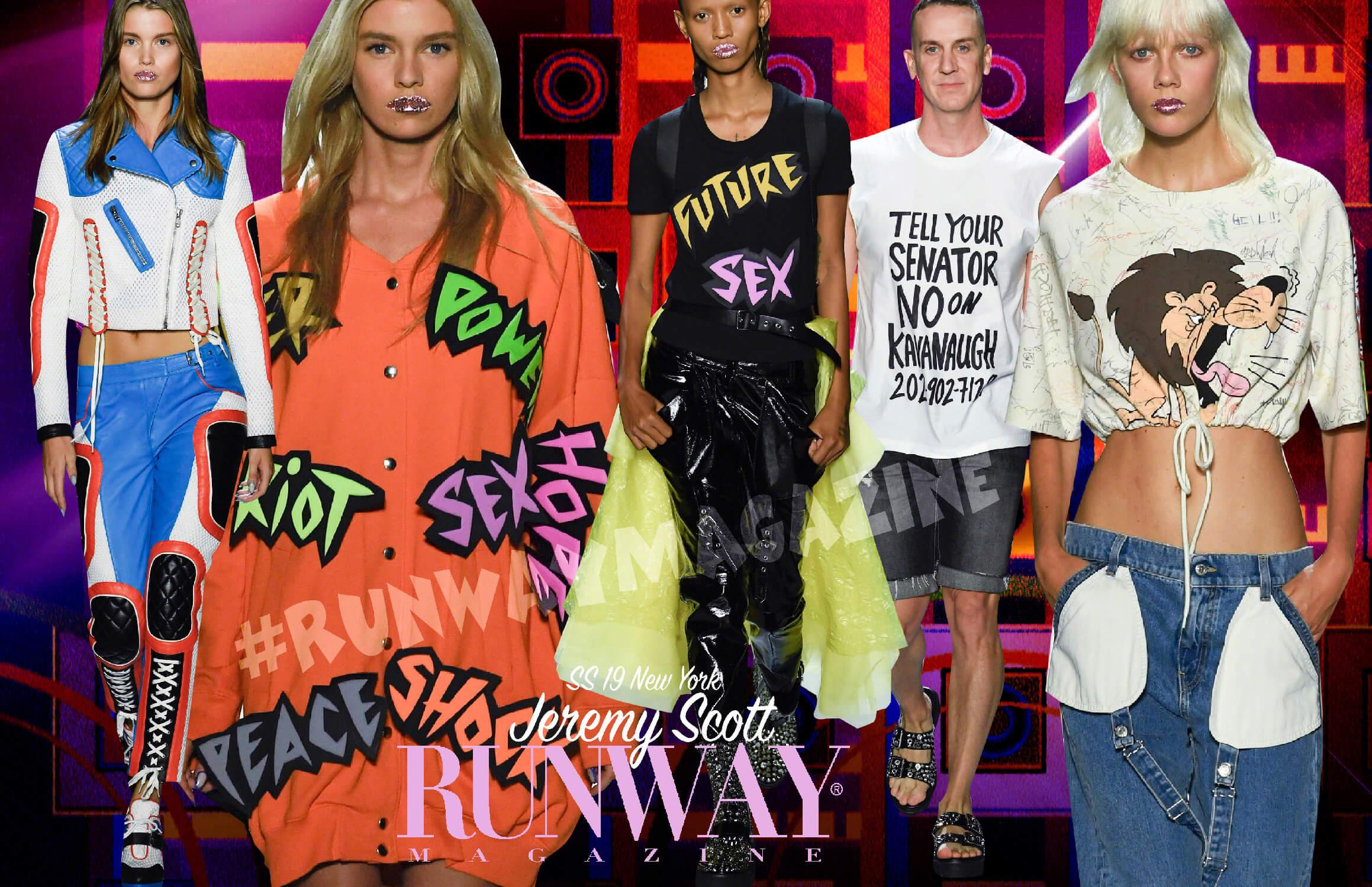 Jeremy Scott New York Spring Summer 2019 by Runway Magazine