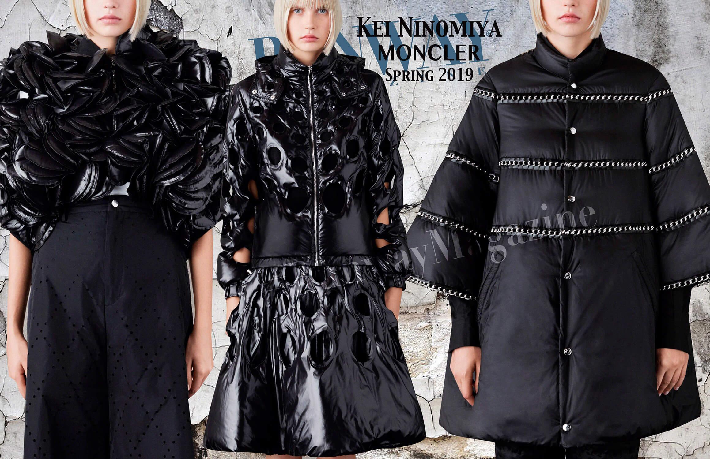 Moncler Kei Ninomiya Spring Summer 19 Milan by Runway Magazine