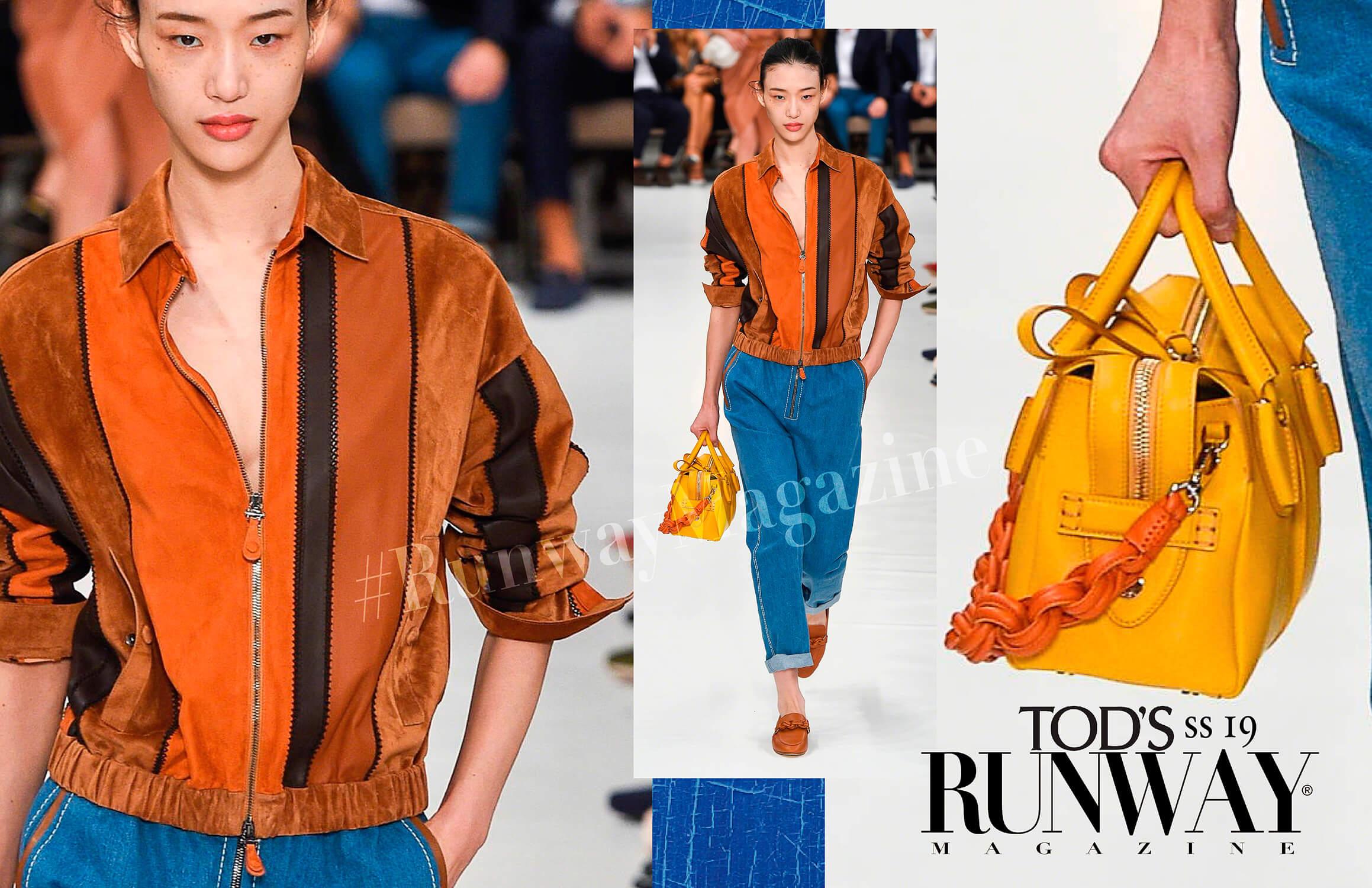 TOD'S Spring Summer 19 Milan by Runway Magazine