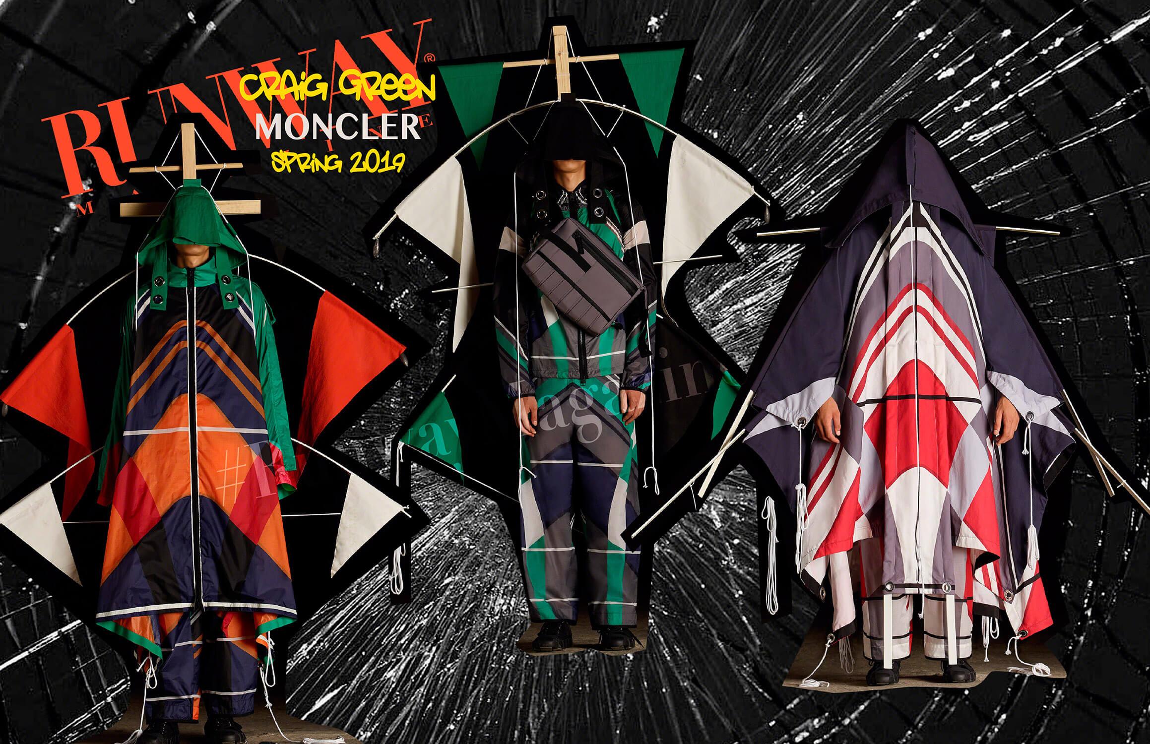 Moncler Craig Green Spring Summer 19 Milan by Runway Magazine