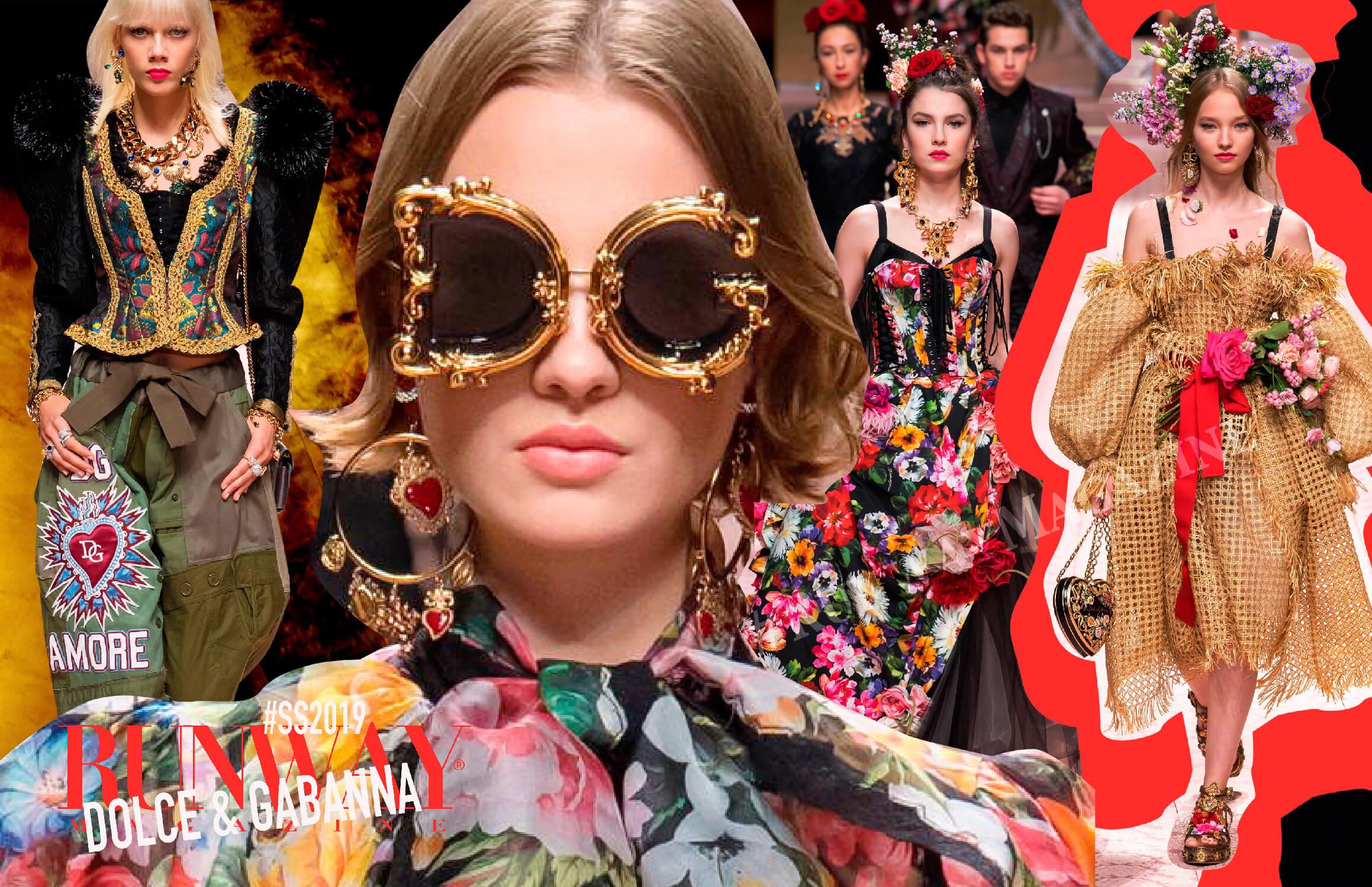 Dolce Gabbana Spring Summer 2019 Runway Magazine 174 Official