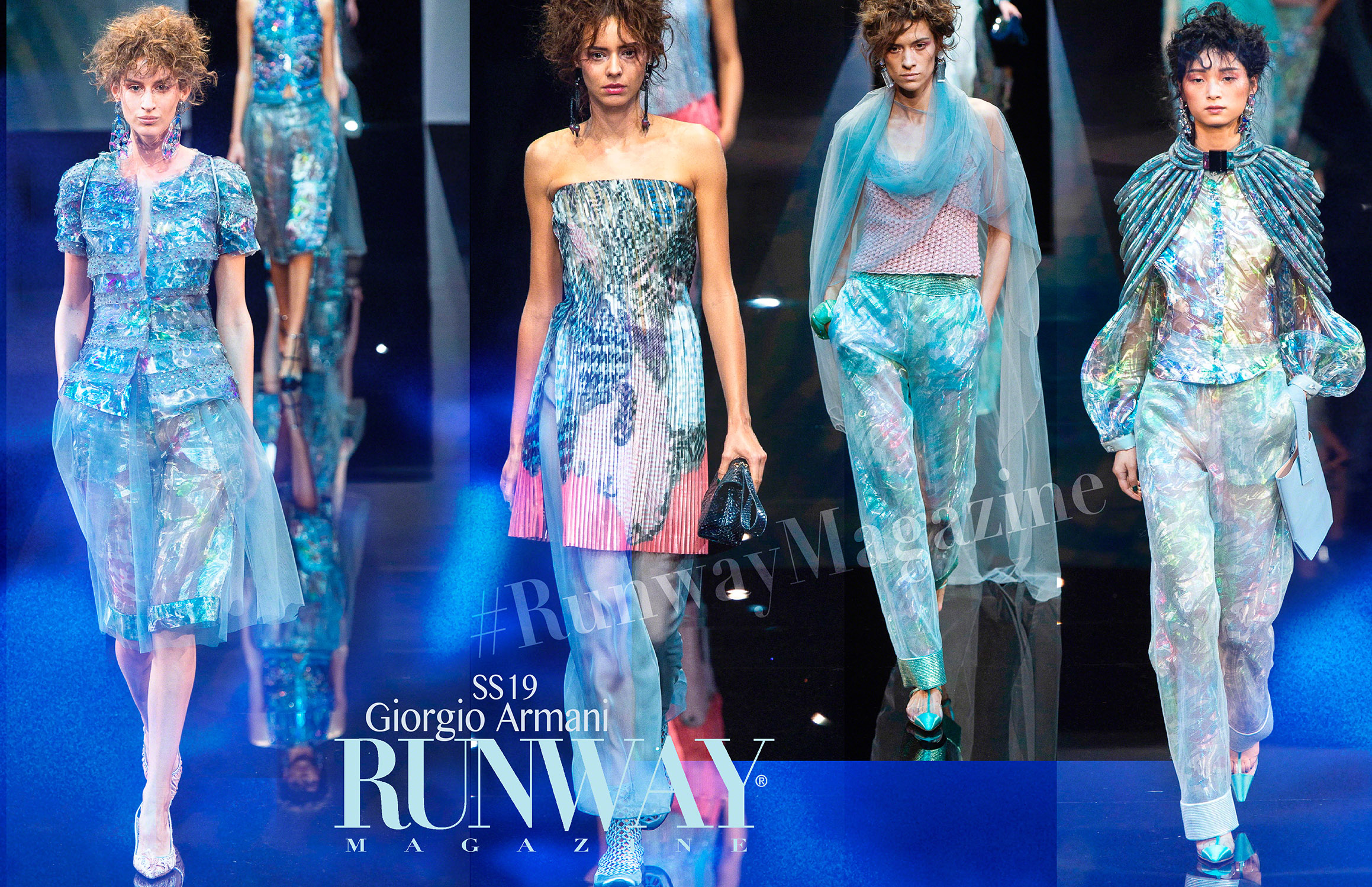 Giorgio Armani Spring Summer 19 Milan by Runway Magazine