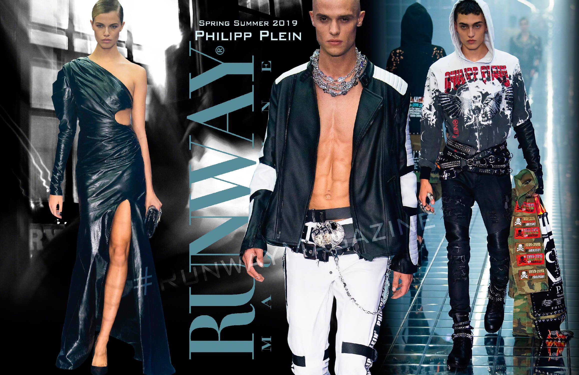 Philipp Plein Spring Summer 19 Milan by Runway Magazine