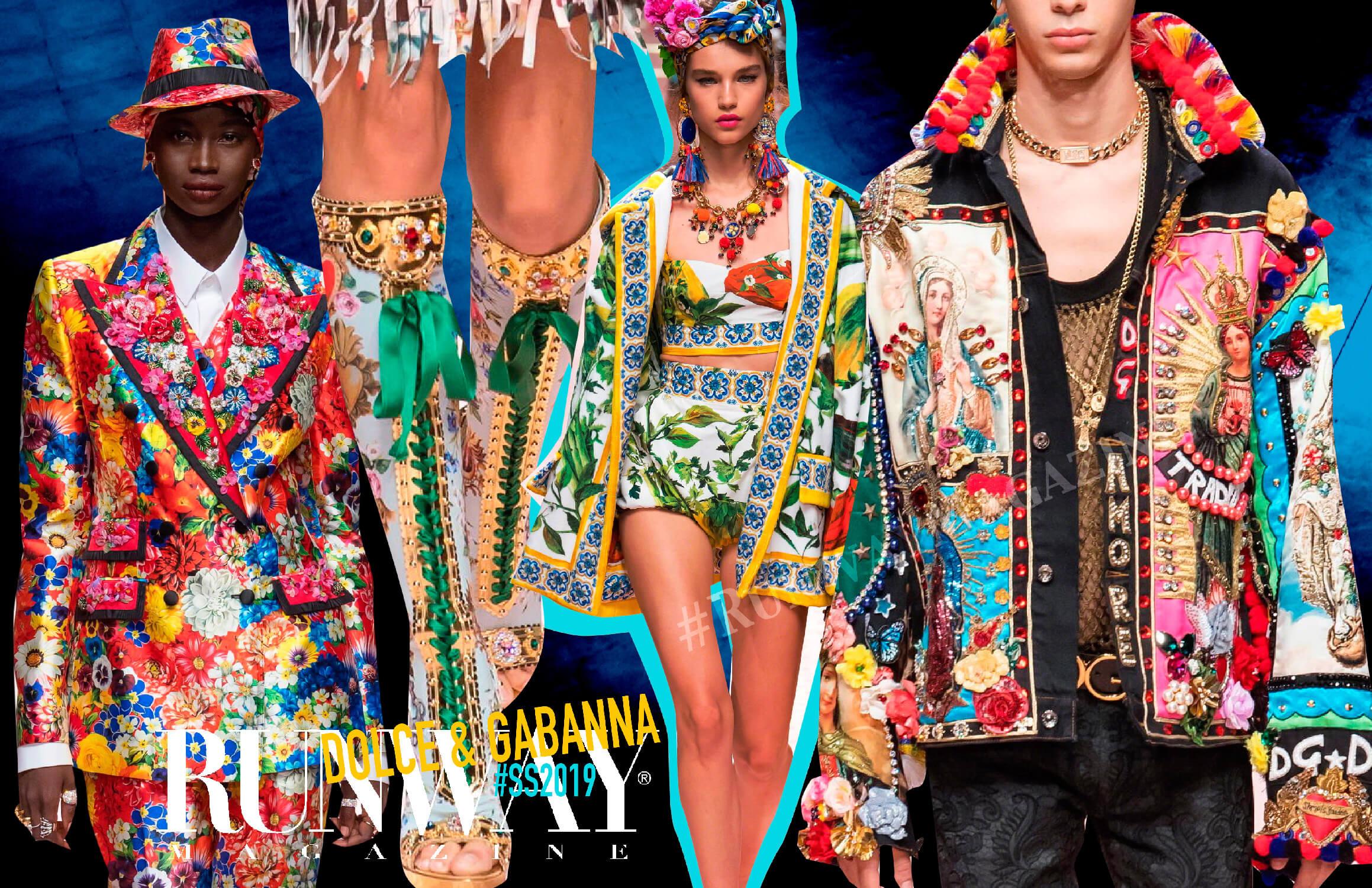 Dolce Gabanna Spring Summer 2019 by Runway Magazine