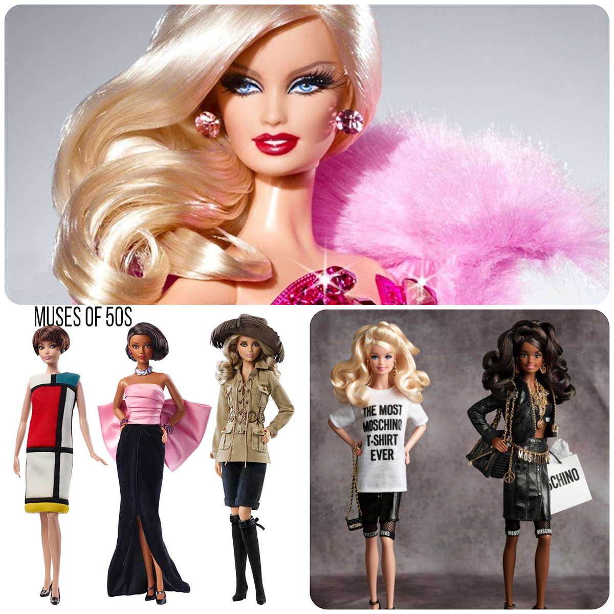Barbie-Runway-Magazine-50s muses-Moschino