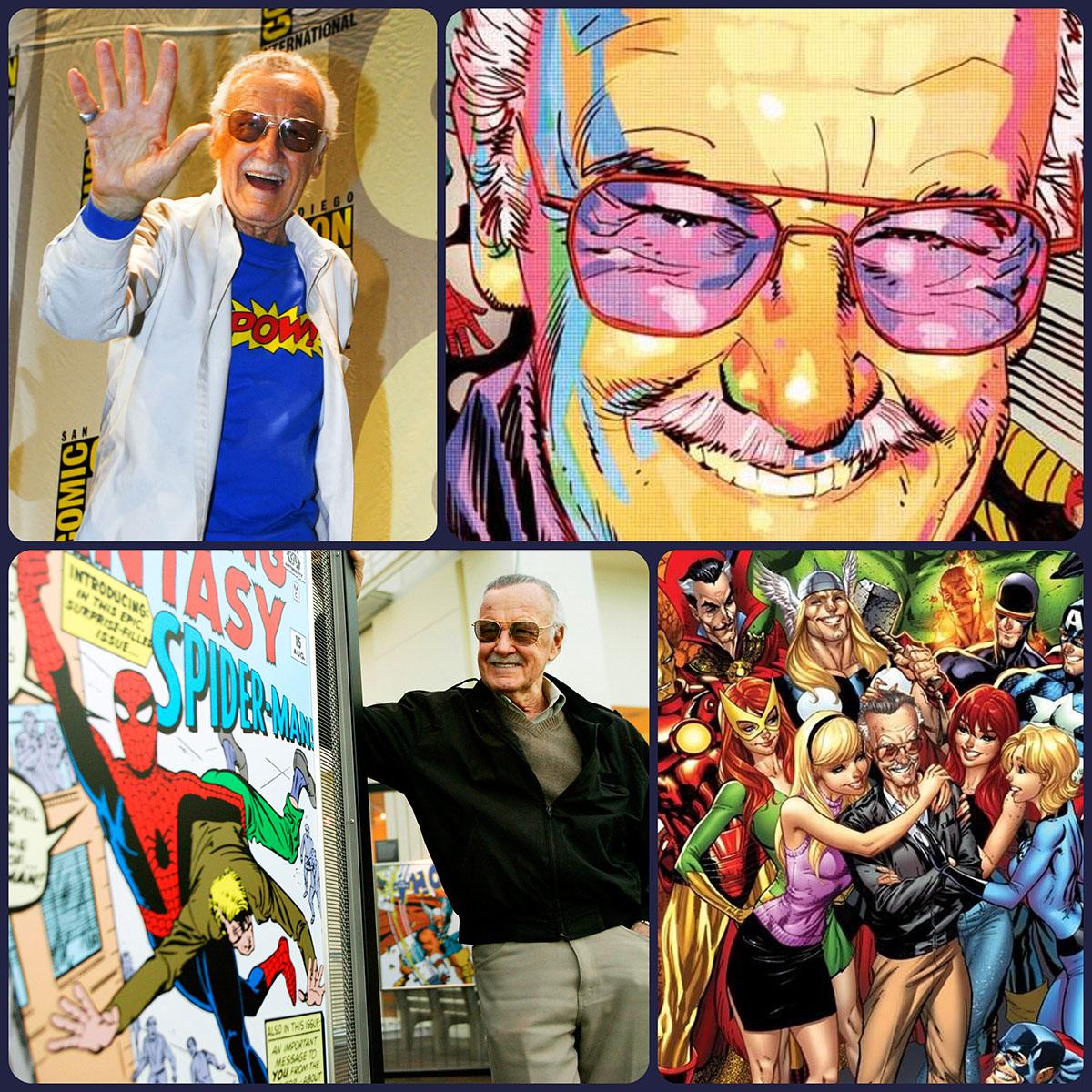 Stan Lee Marvel by Runway Magazine