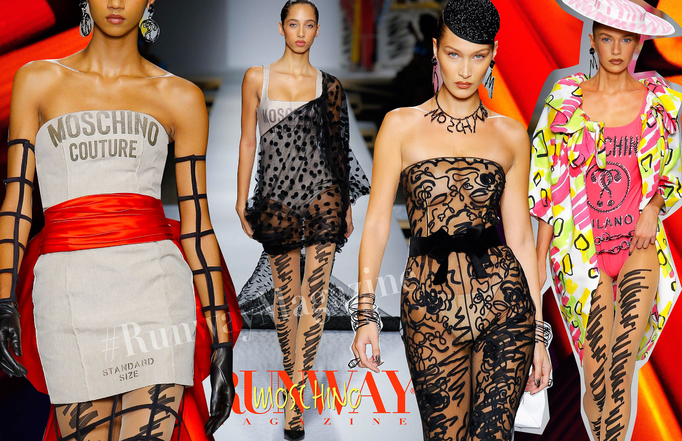 Moschino Spring Summer 2019 Milan by Runway Magazine