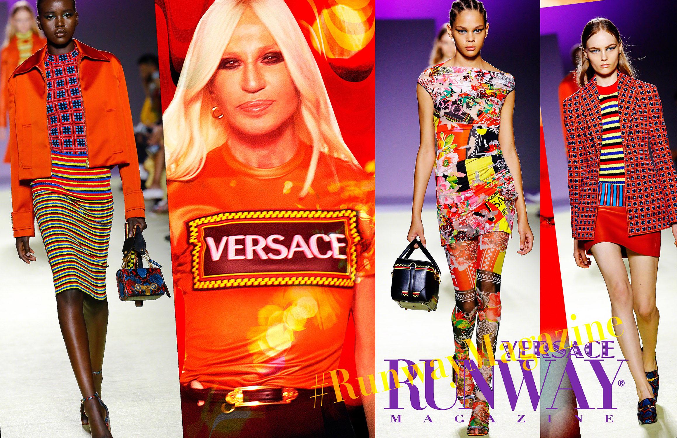 Versace Spring Summer 19 Milan by Runway Magazine