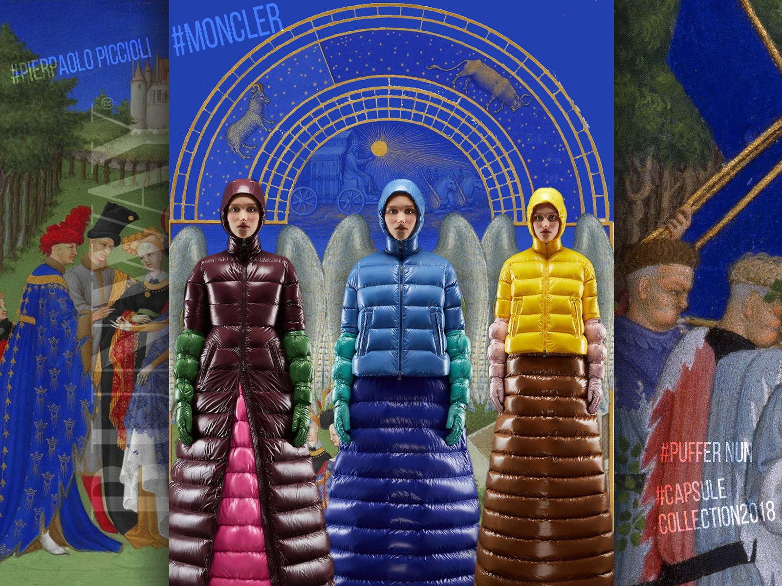 """Moncler """"Puffer Nun"""" Capsule Collection 2018 by Pierpaolo Piccioli by Runway Magazine"""