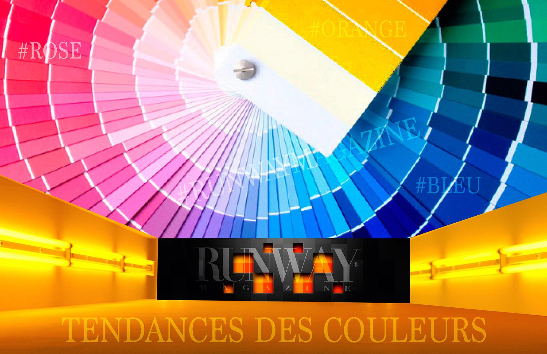 TENDANCES DE COULEURS, Guillaumette Duplaix, Runway Magazine