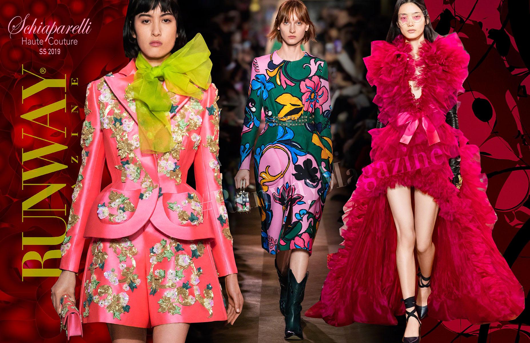 Schiaparelli Haute Couture Spring Summer 2019 by Runway Magazine