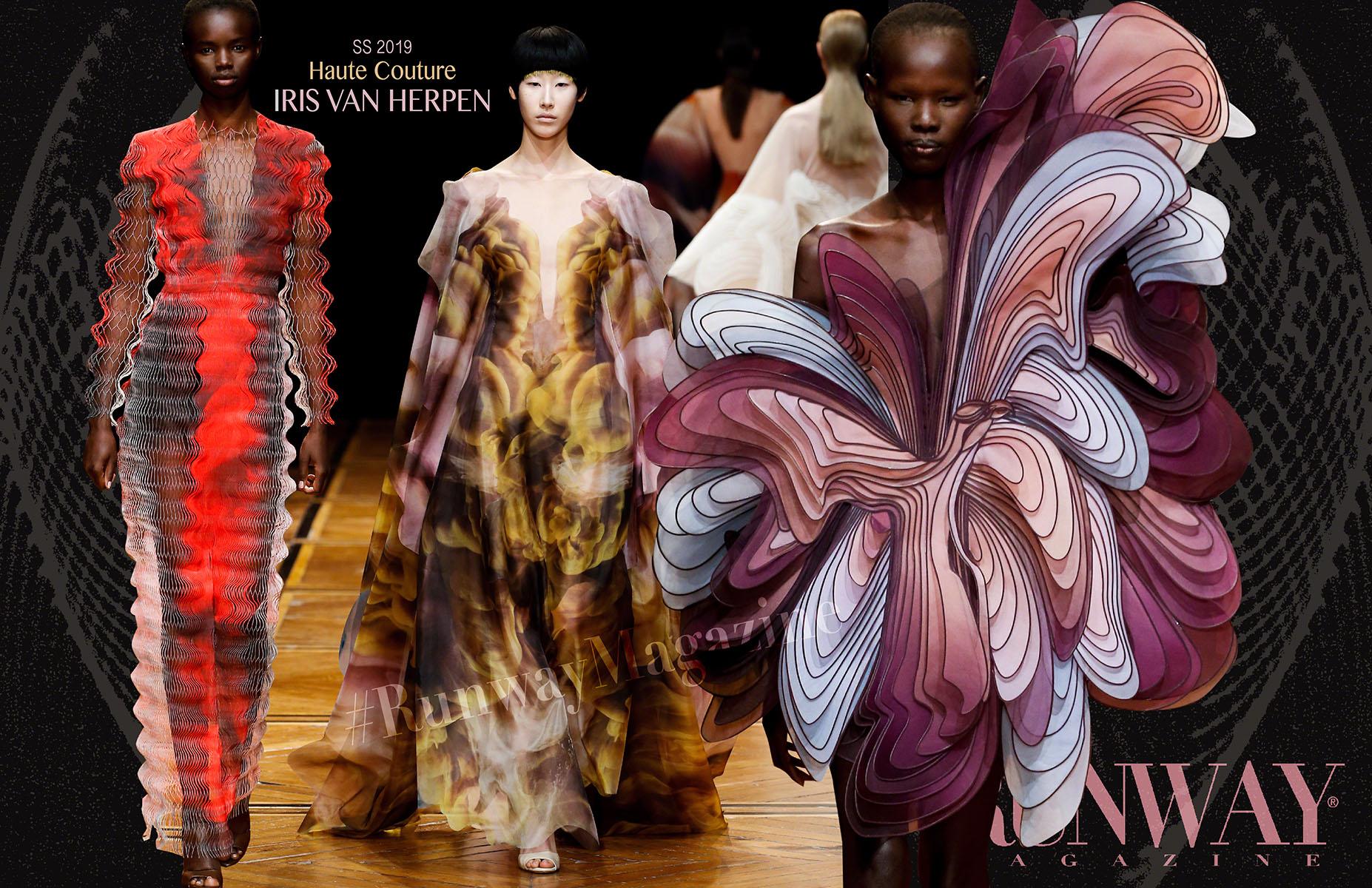 Iris Van Herpen Haute Couture Spring Summer 2019 by Runway Magazine