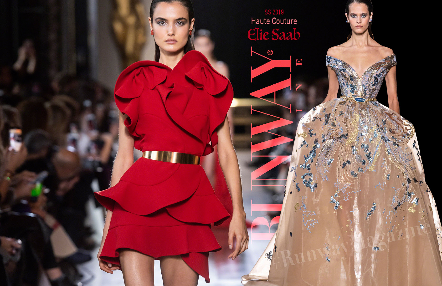 Elie Saab Haute Couture Spring Summer 2019 by Runway Magazine