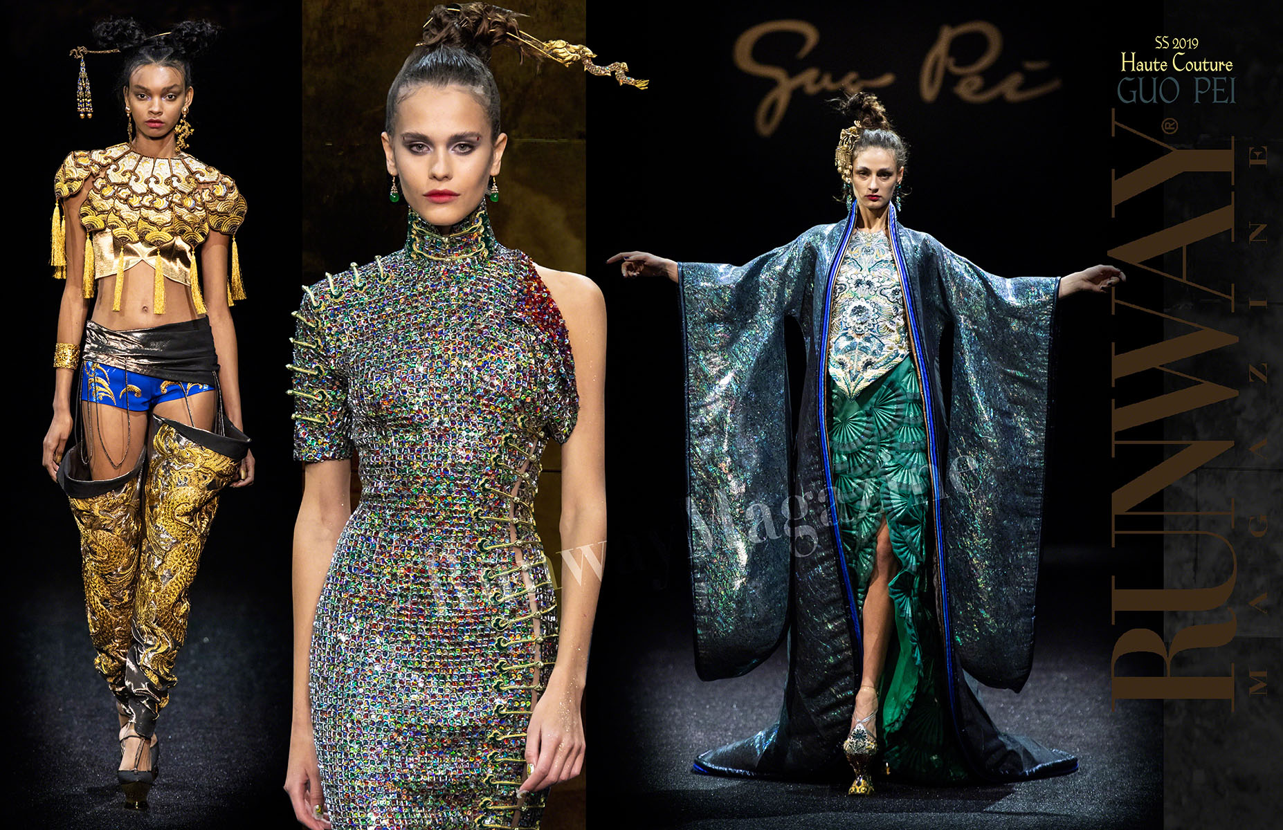 GUO PEI Haute Couture Spring Summer 2019 by Runway Magazine