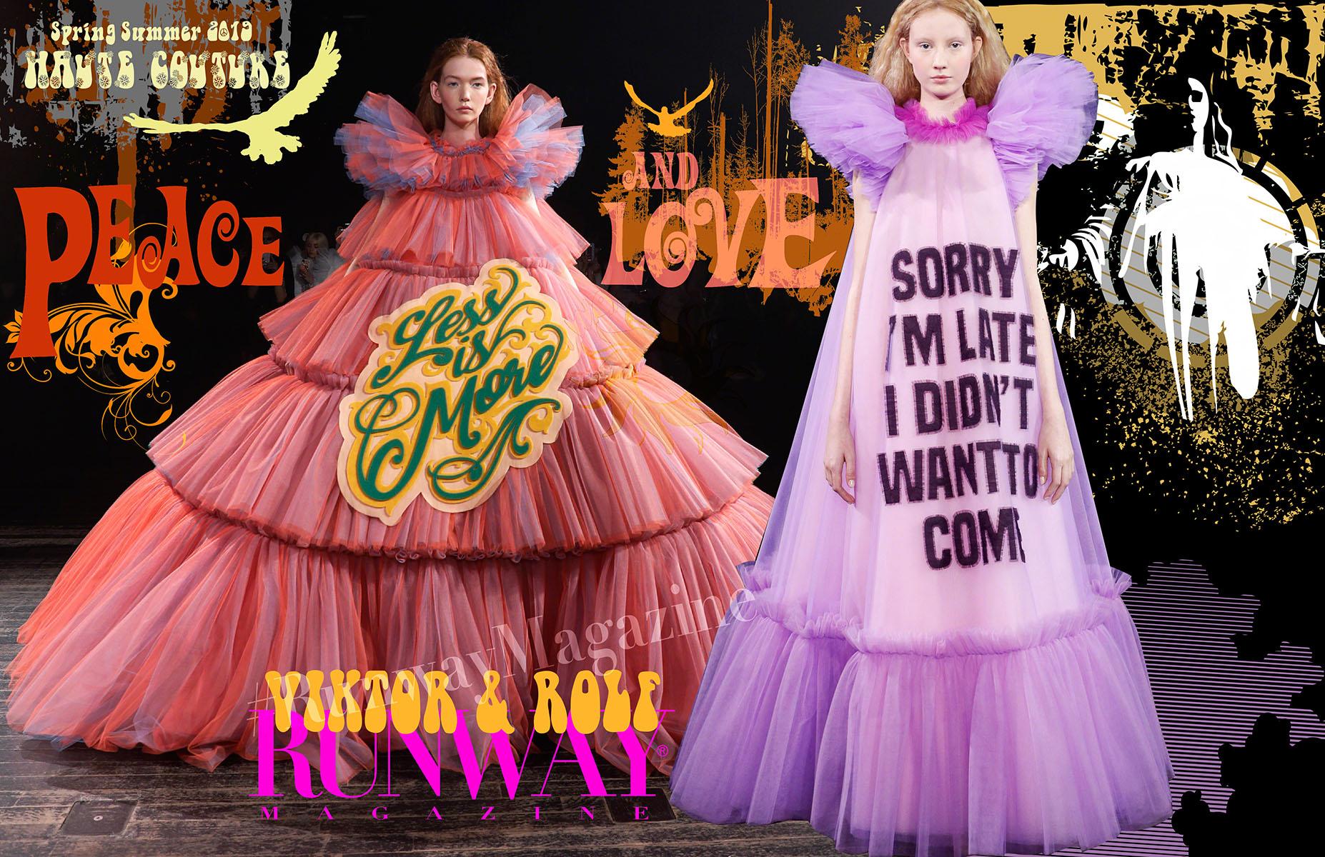 Viktor&Rolf Haute Couture Spring Summer 2019