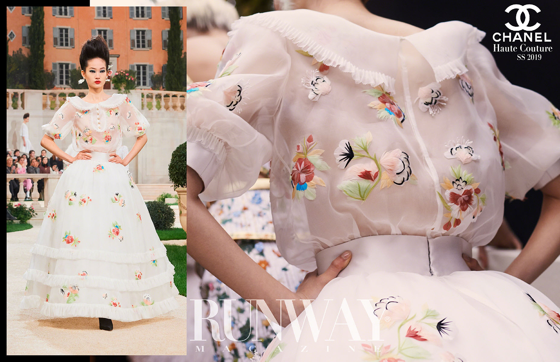 CHANEL Haute Couture Spring Summer 2019 by Runway Magazine - Last collection of Karl Lagerfeld