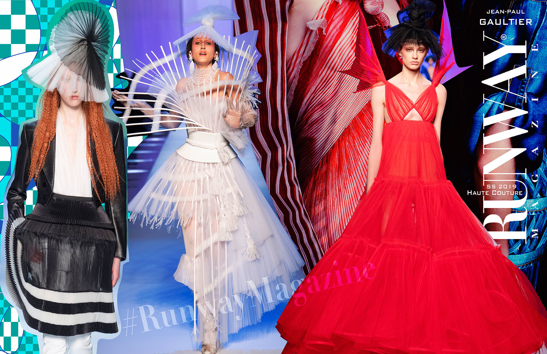 Jean Paul Gaultier Haute Couture Spring Summer 2019 by Runway Magazine