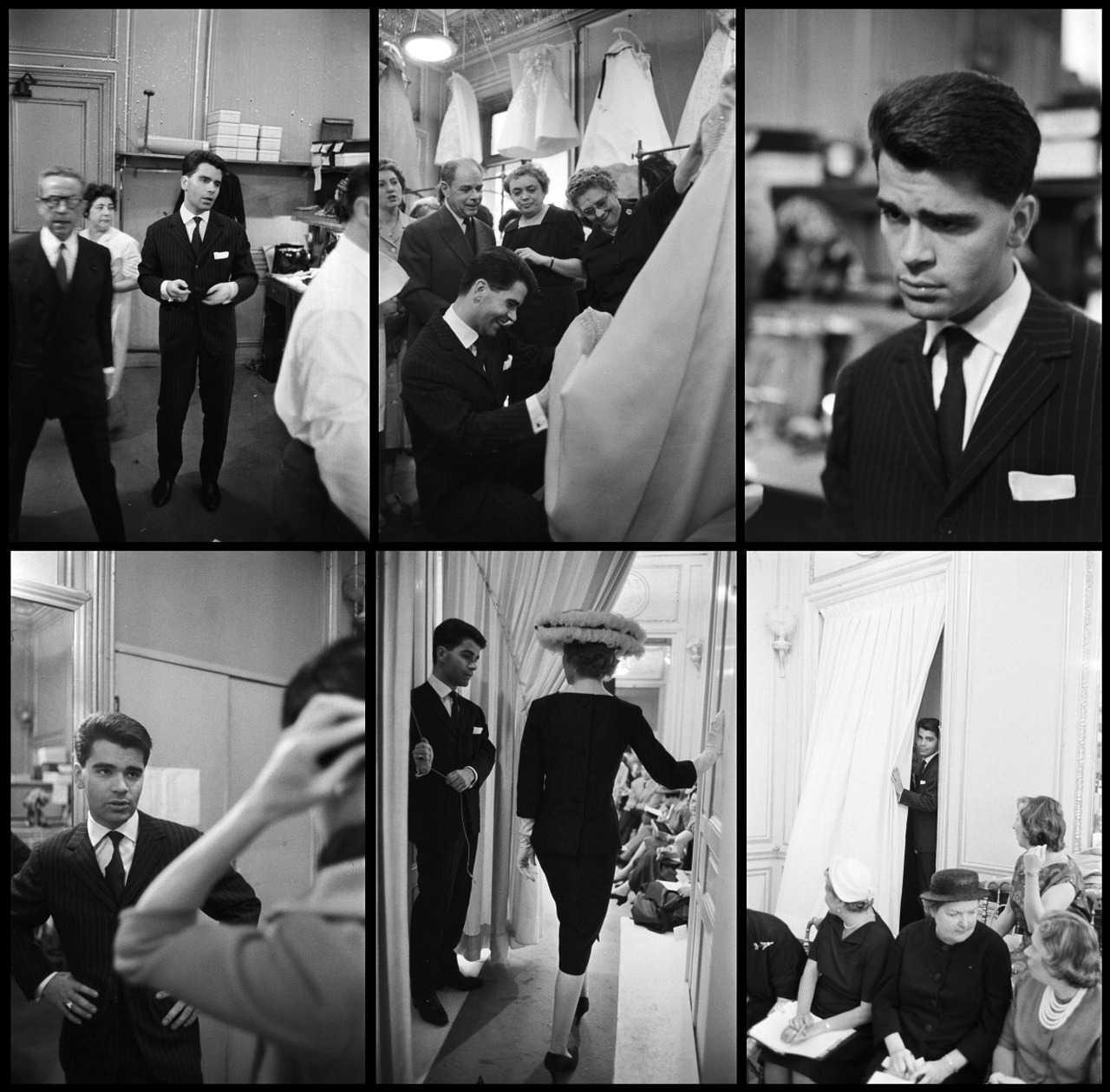 Karl Lagerfeld at Jean Patou, July 1958