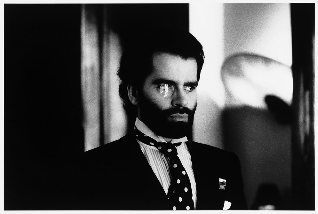 Karl Lagerfeld - Paris - Helmut Newton Estate