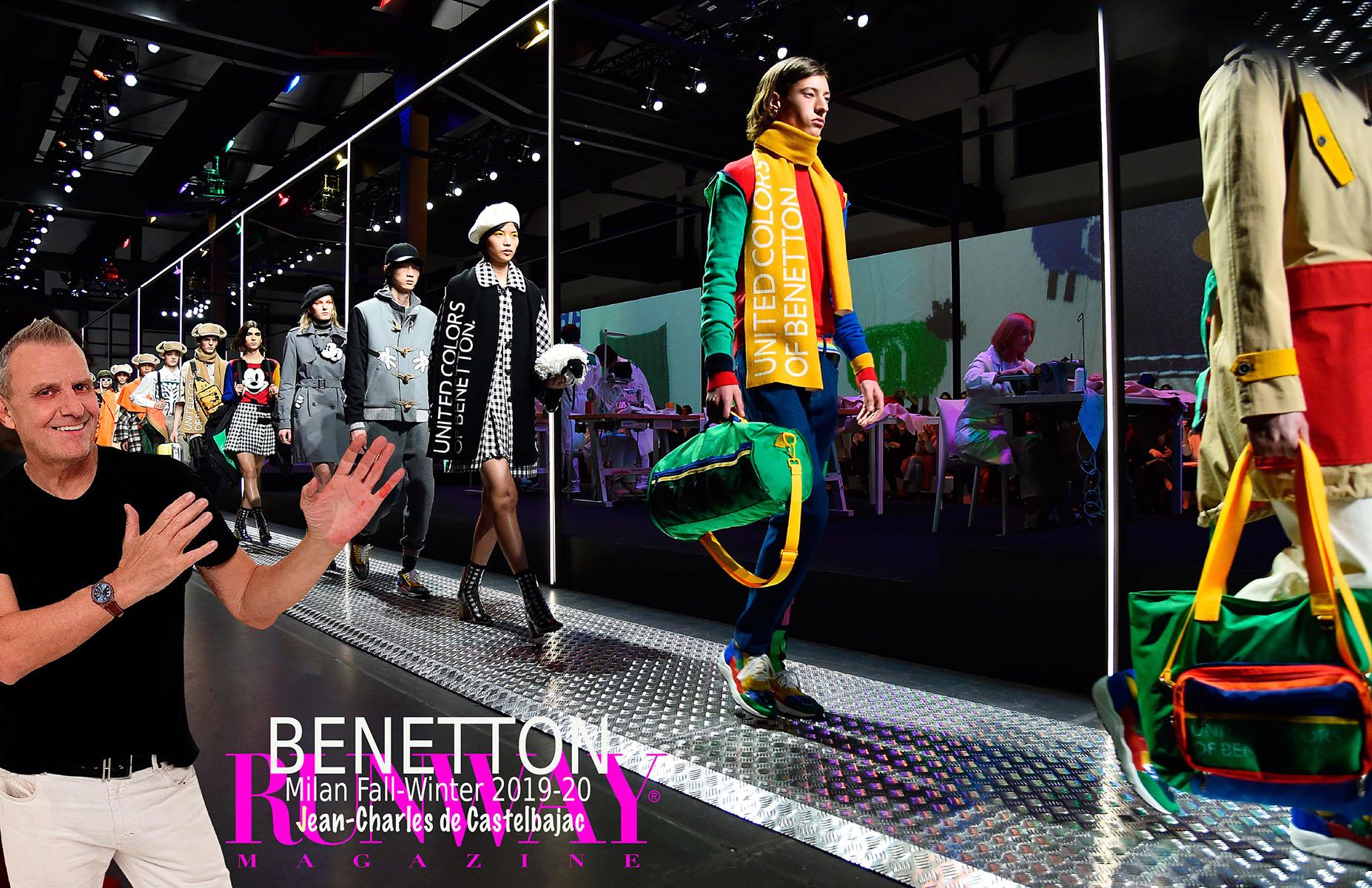 BENETTON JCCastelbajac Milan Fall-Winter 2019-2020 by Runway Magazine