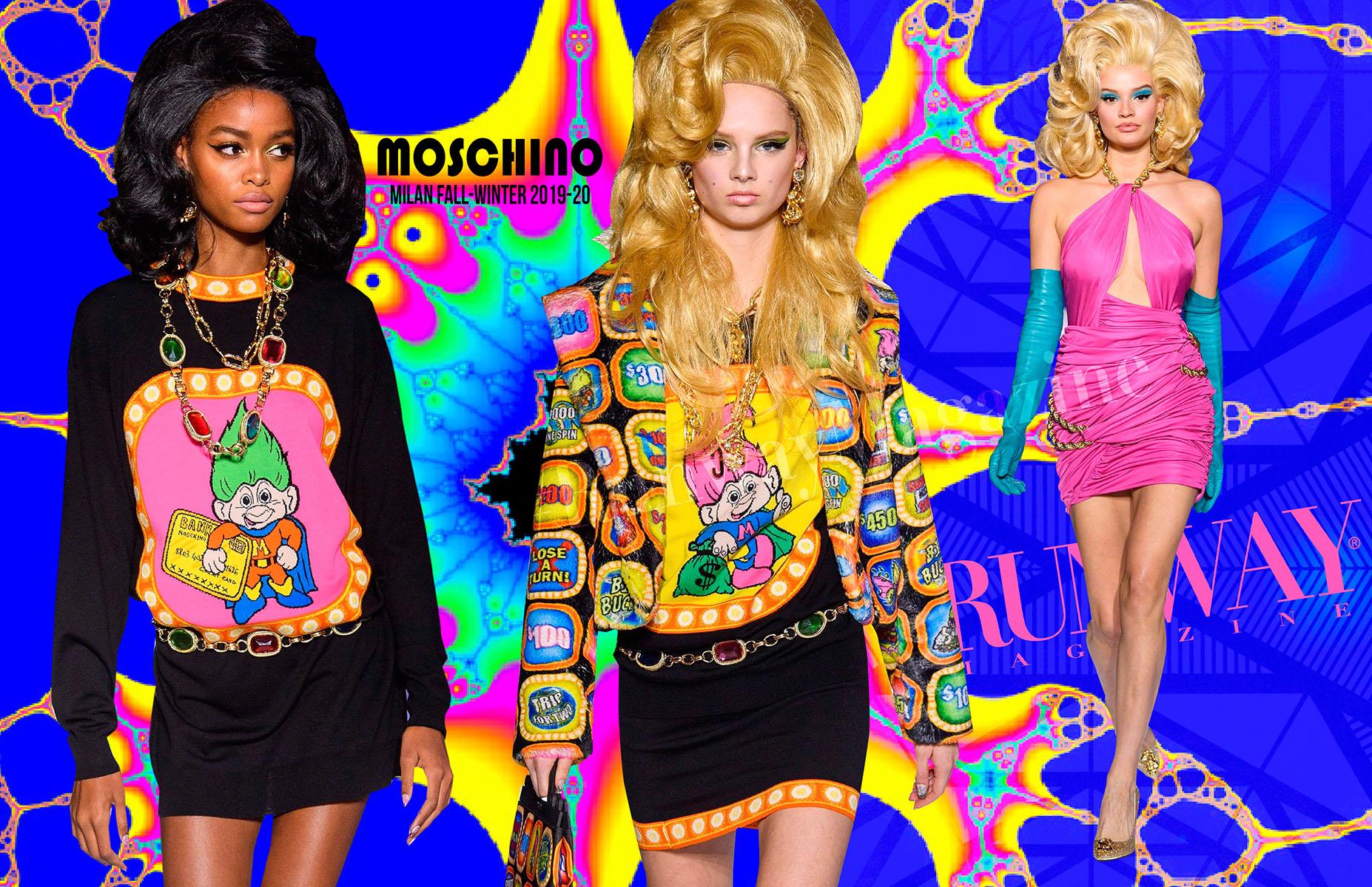 MOSCHINO Milan Fashion Week Fall Winter 2019-2020 by Runway Magazine