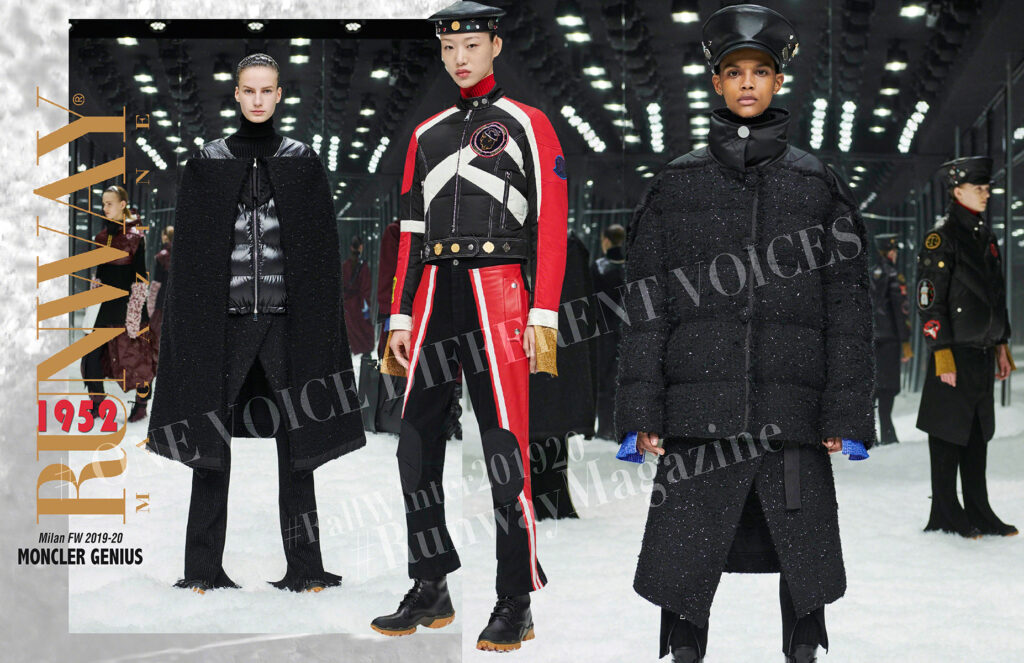 Moncler Genius Fall Winter 2019-2020 Milan Fashion Week