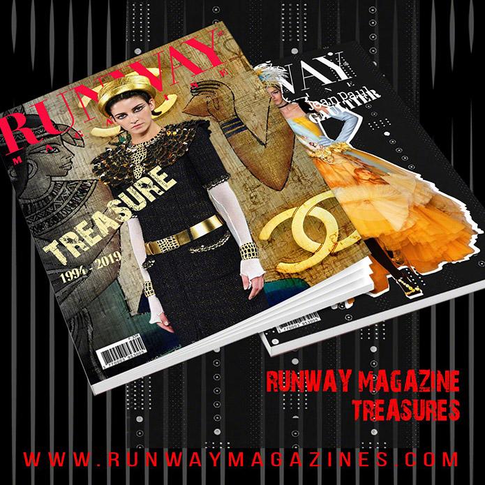 RUNWAY MAGAZINE issue 2019 RUNWAY MAGAZINE cover 2019