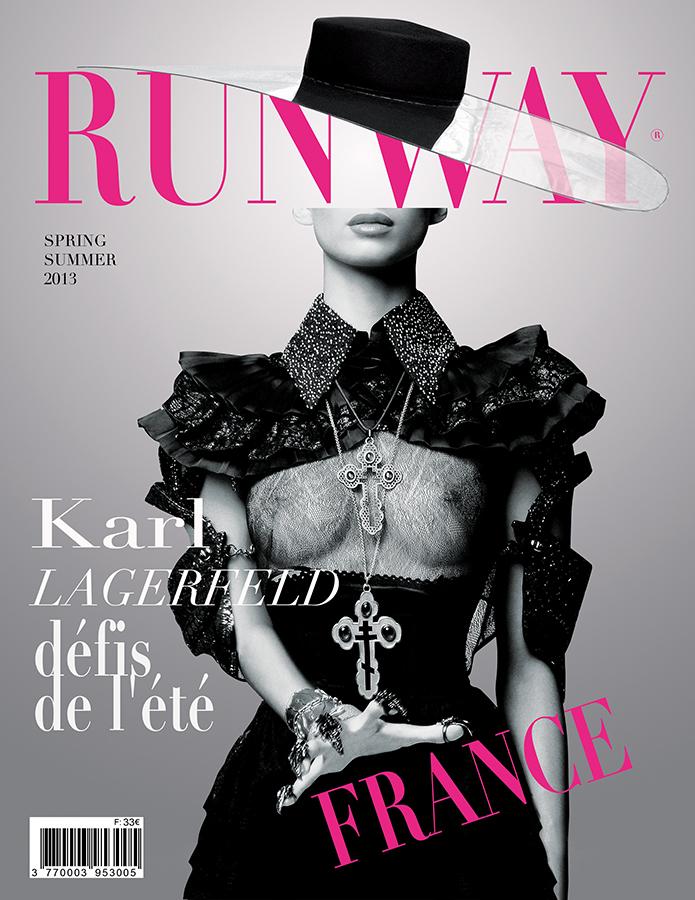 RUNWAY MAGAZINE issue 2013 RUNWAY MAGAZINE cover 2013