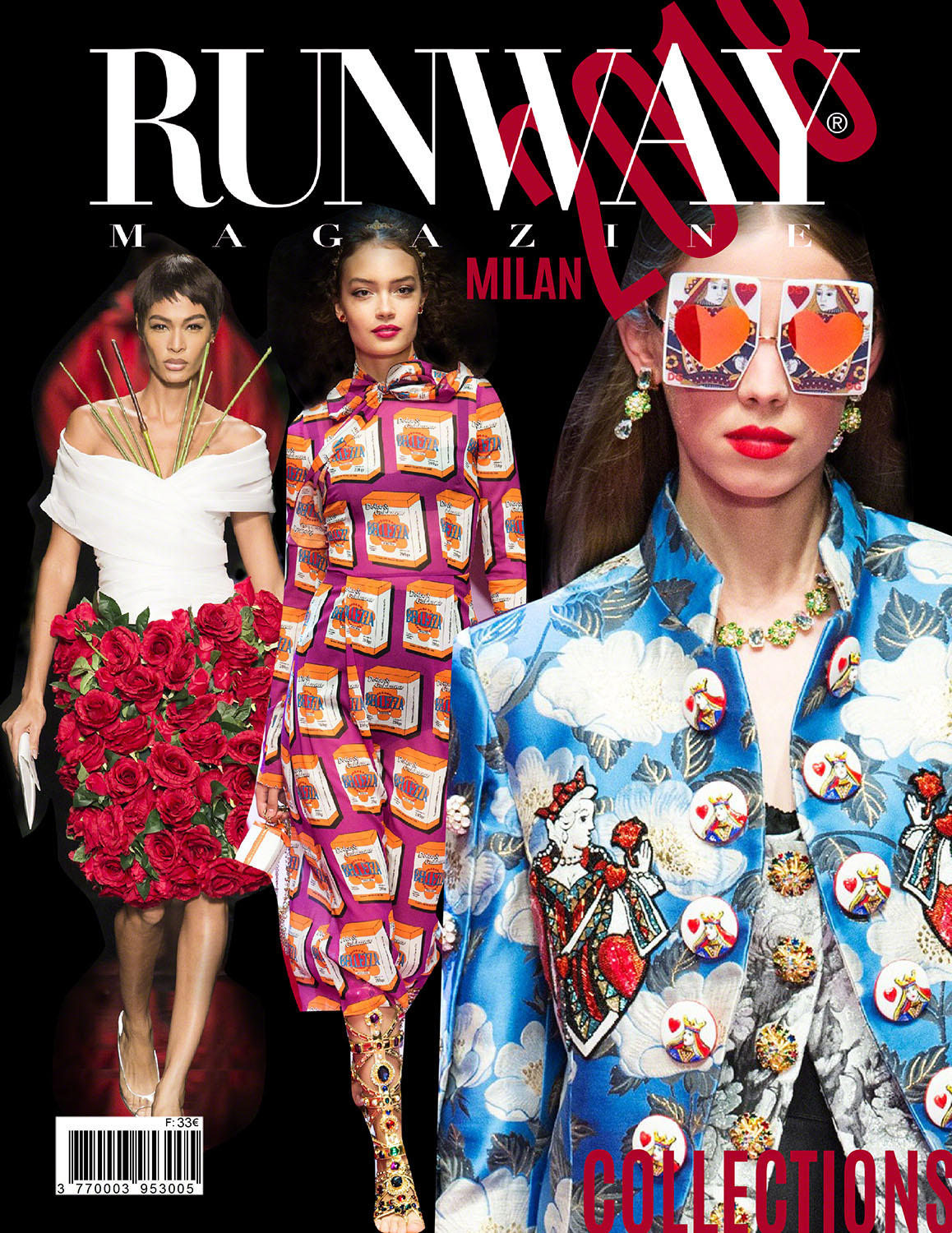 Runway Magazine 2018 Cover Milan Collections