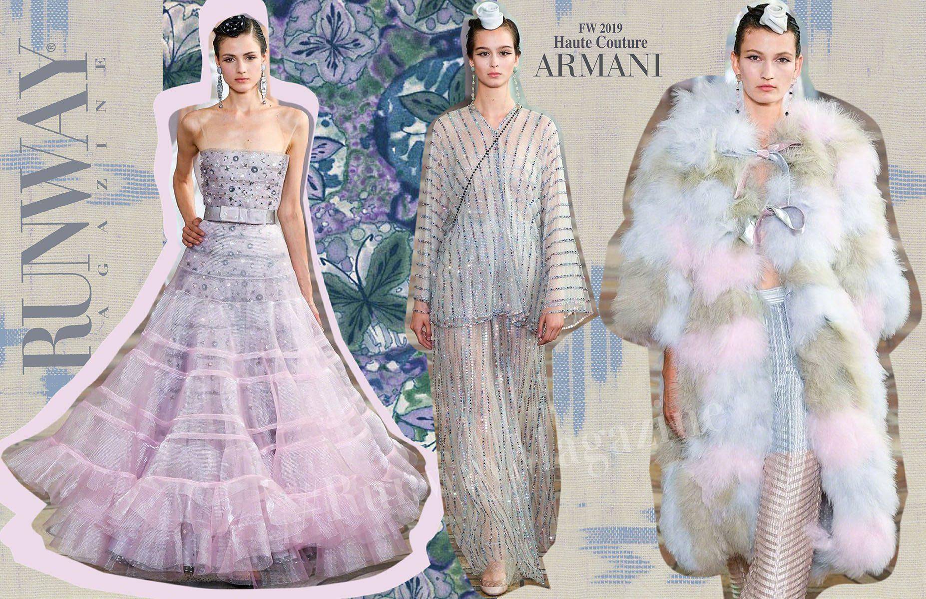 Armani Prive Haute Couture Fall-Winter 2019-2020 Runway Magazine