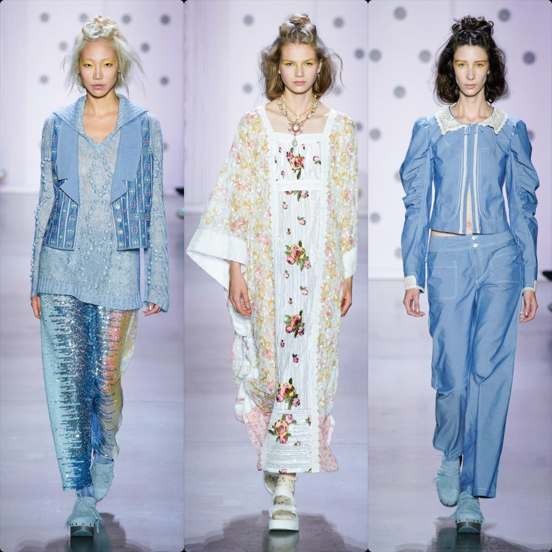 Anna Sui Primavera Estate 2020 New York - RUNWAY RIVISTA Collezioni