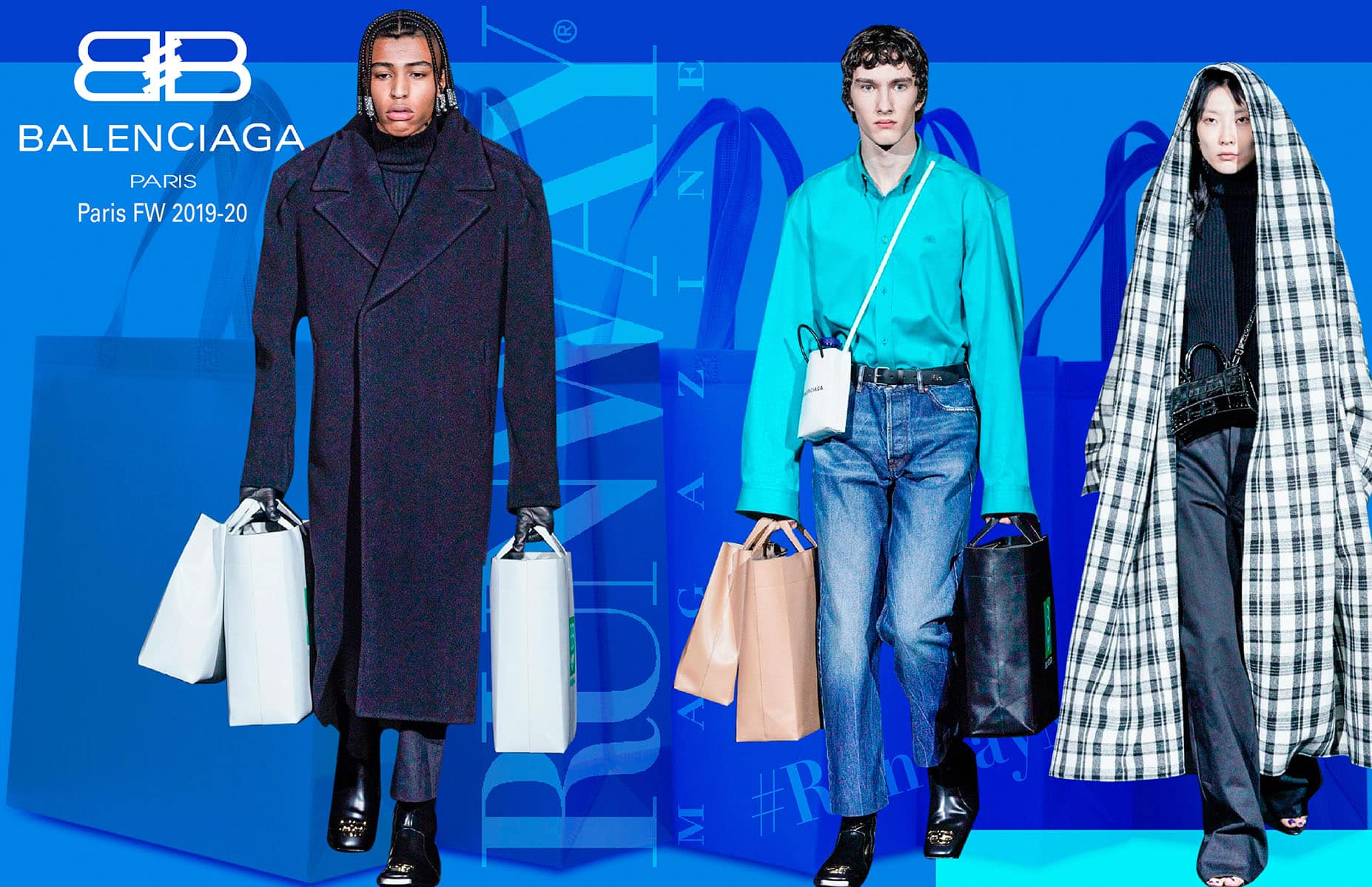 Balenciaga Fall Winter 2019-2020 Paris by RUNWAY MAGAZINE